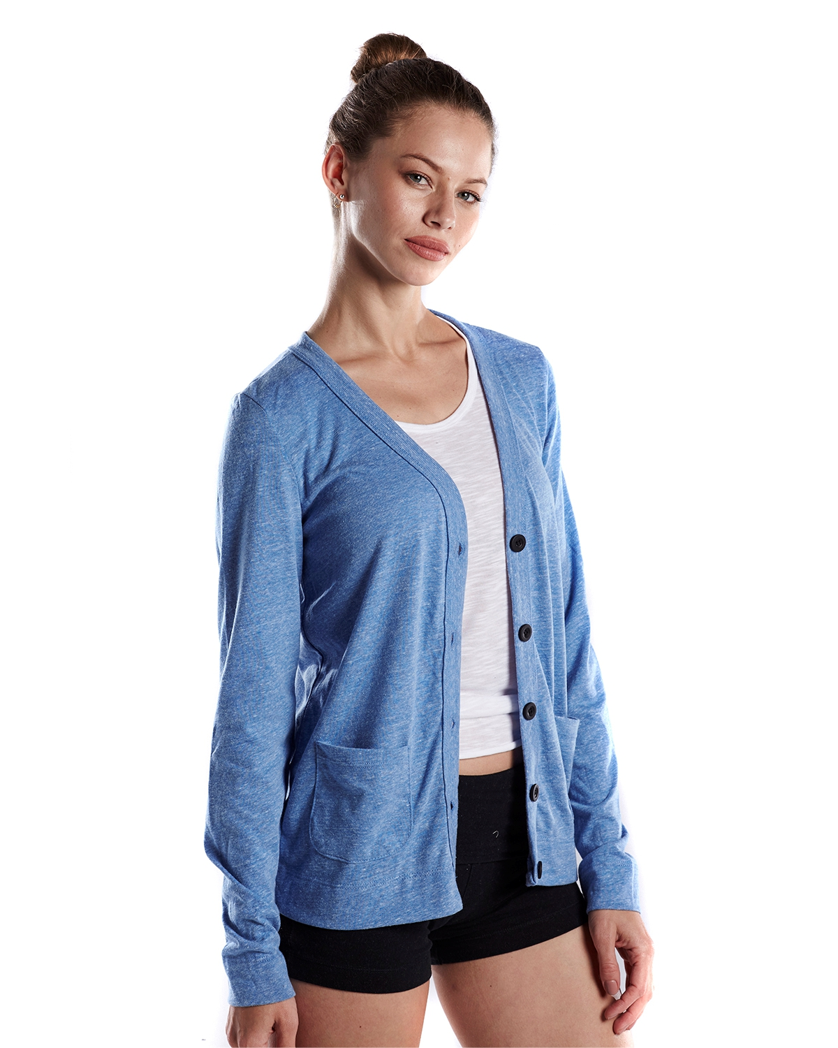 Ladies 4.9 oz Cardigan #US950