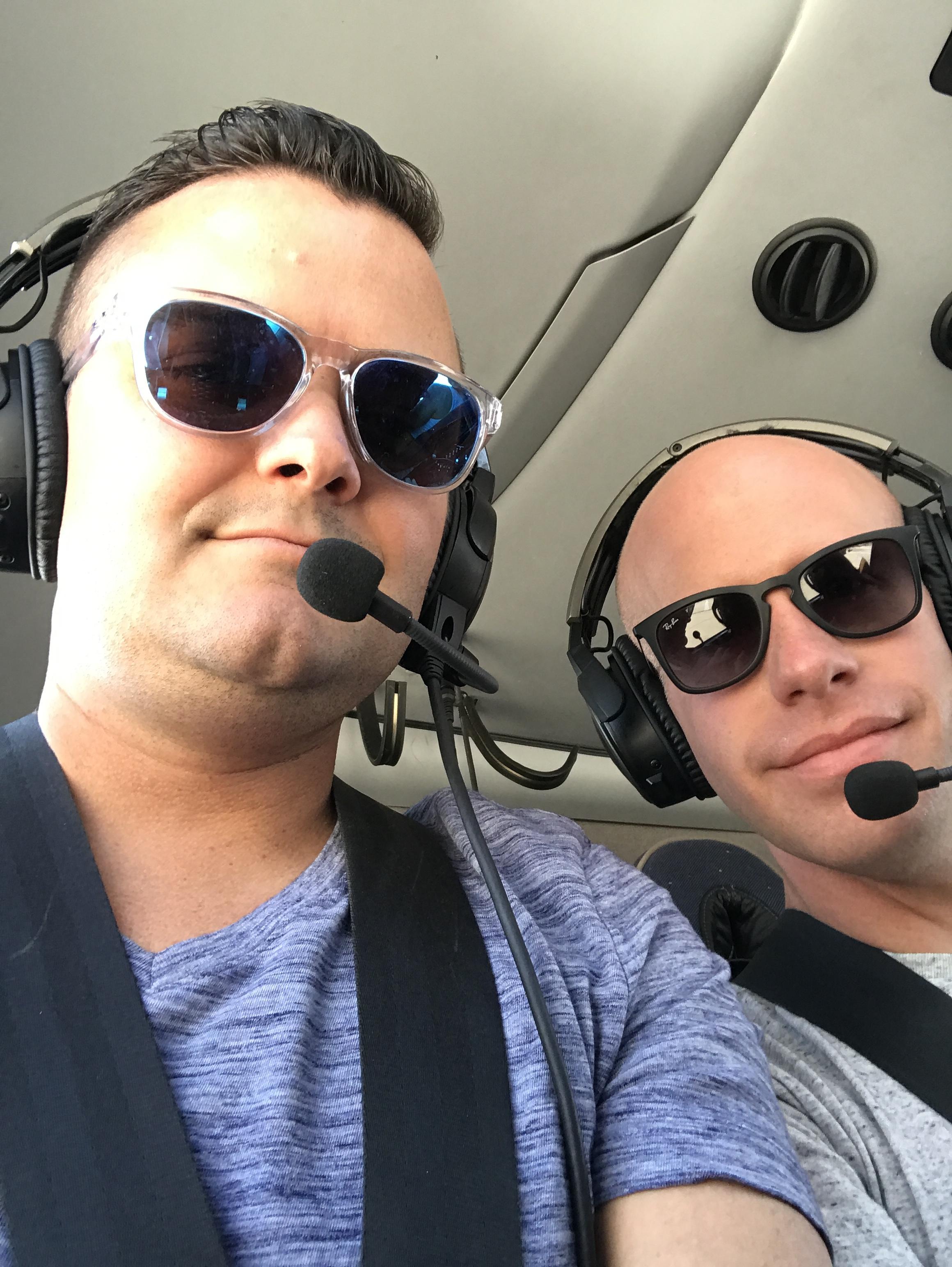 Flying high in a chopper