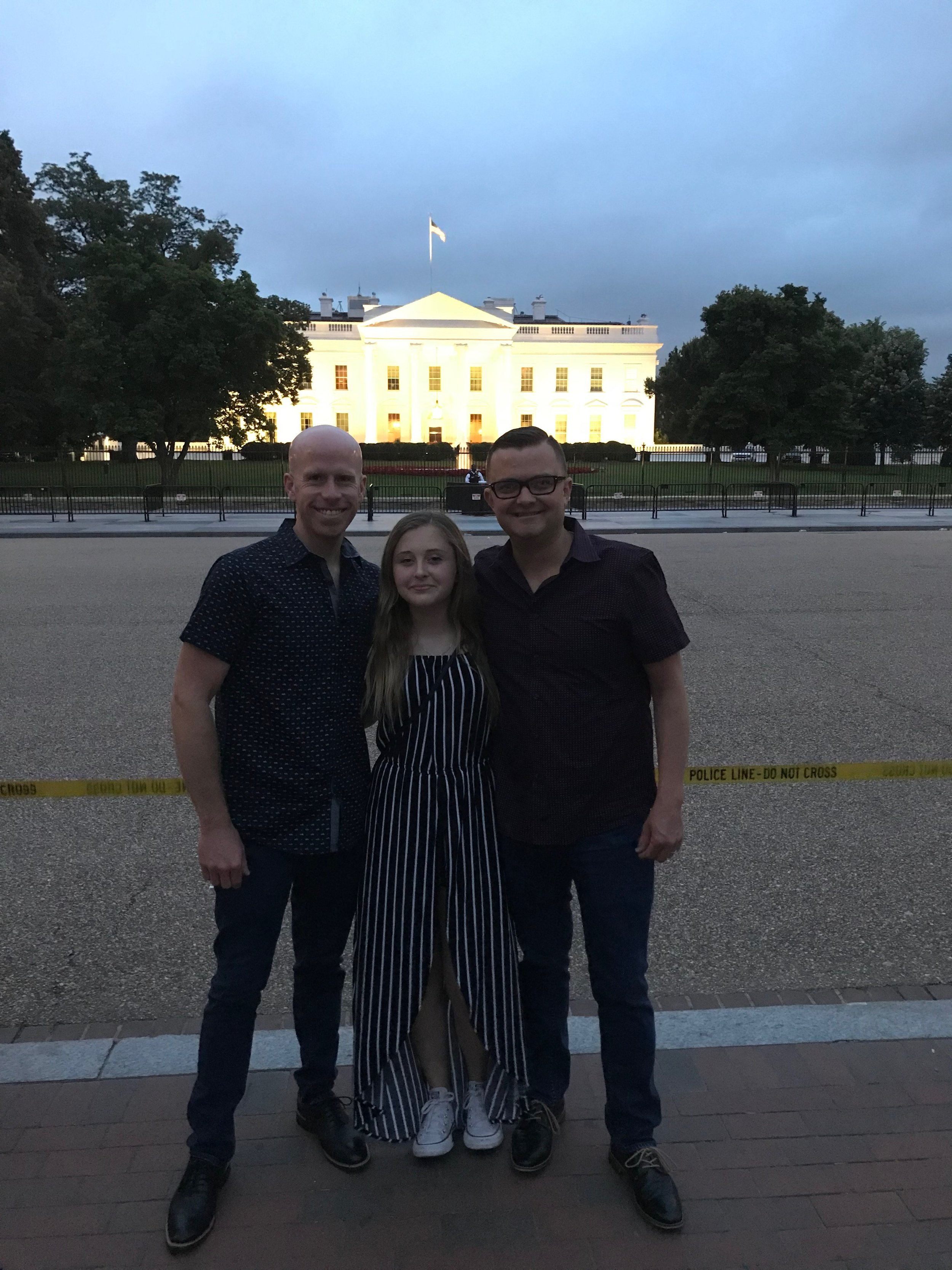 Washington DC with our Niece