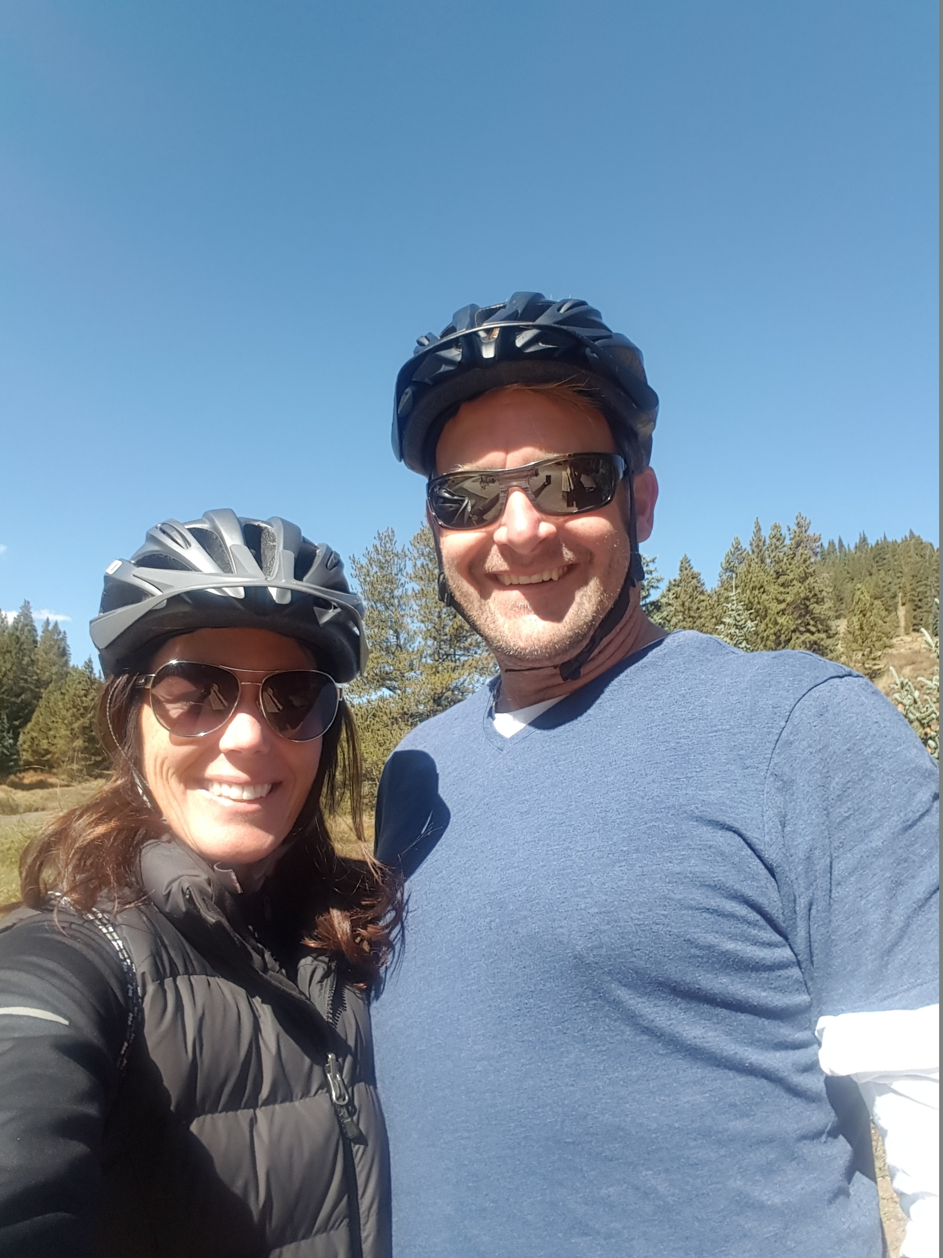 Biking in Colorado