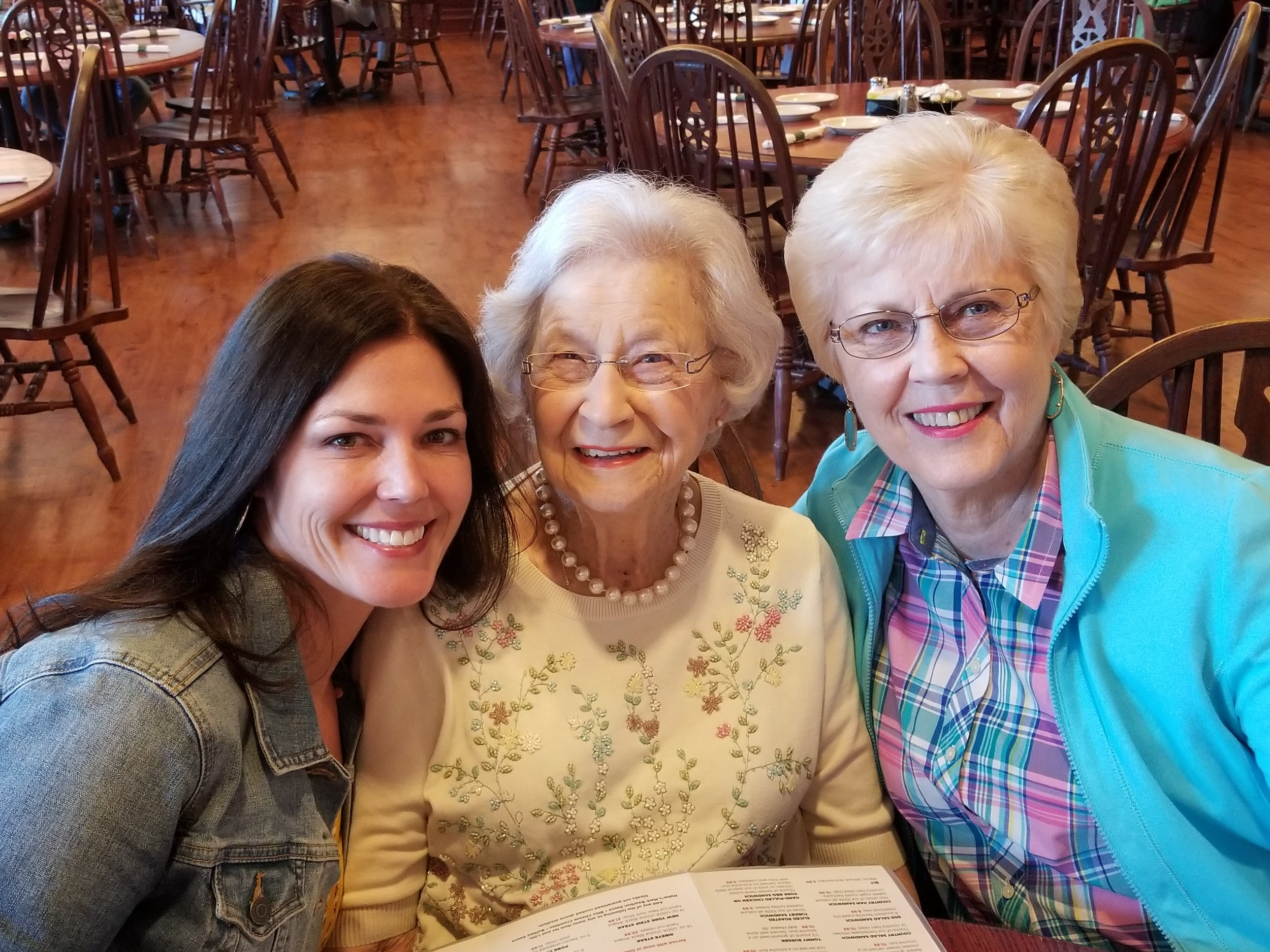 Amanda, 95 year old grandmother and mom