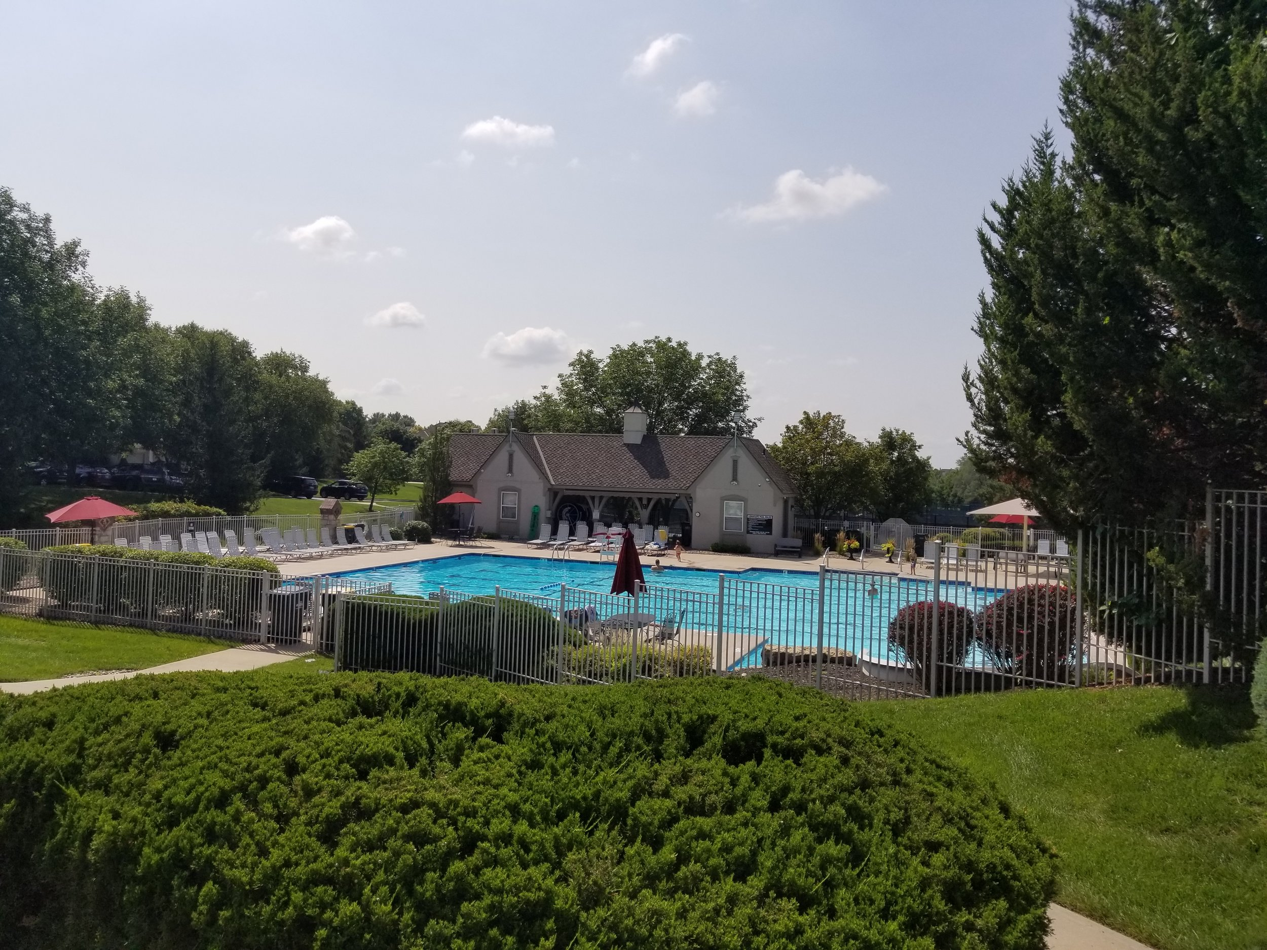 Our community pool
