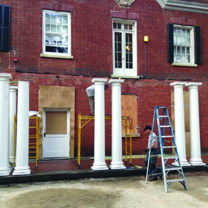 Copy of Portico Construction