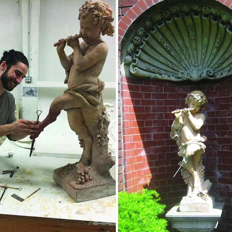 Copy of Terra Cotta Faun Restored