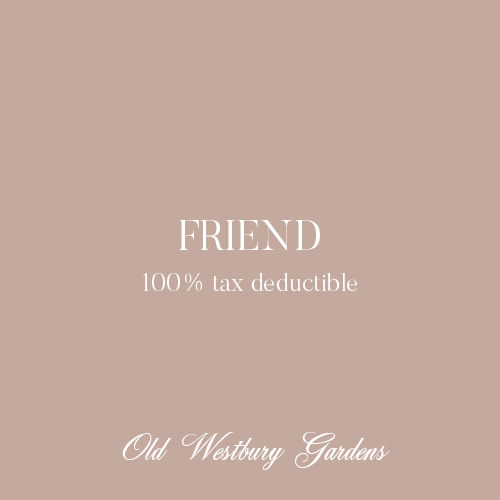 FRIEND ($300)Basic benefits cover 6 adults & childrenAdditional benefits include:Monthly membership meetingsInvites to select programs, exclusive trips & toursInvitations to exclusive fundraising events -