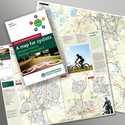 Oxfordshire County Council Map for Cyclists