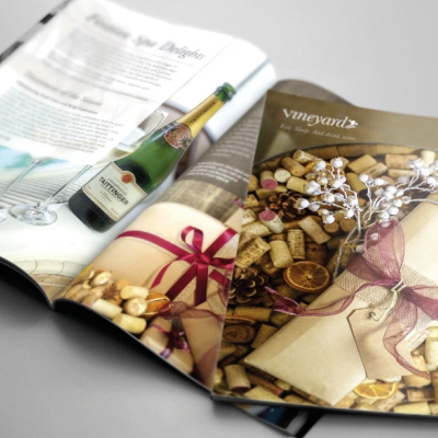 The Vineyard at Stockcross Christmas Brochure