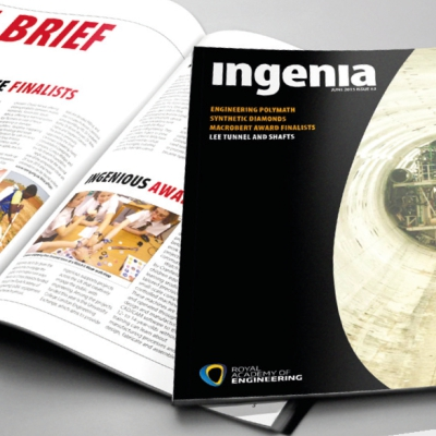 Royal Academy of Engineering Ingenia Magazine