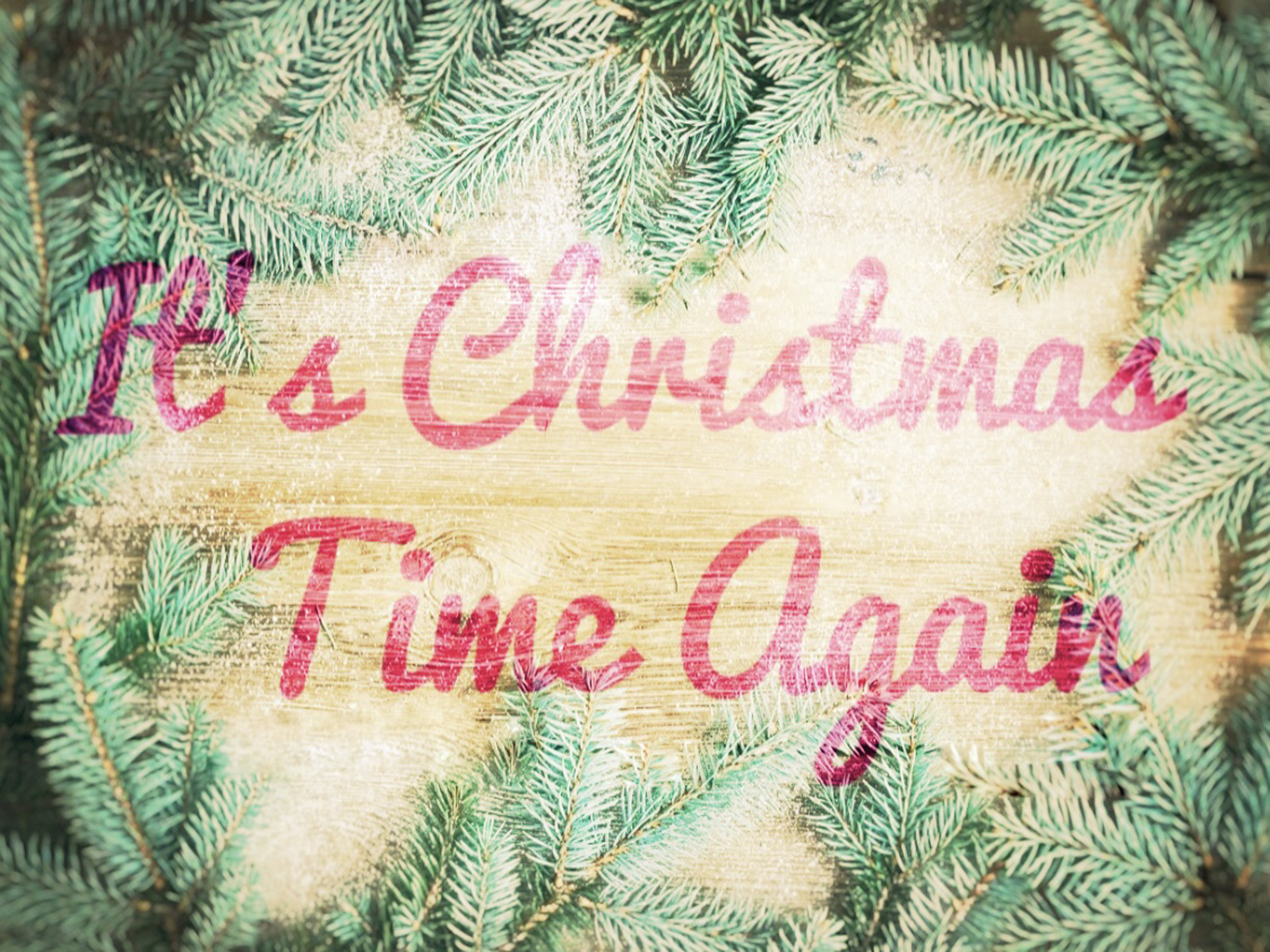 It's Christmas Time Again 2018