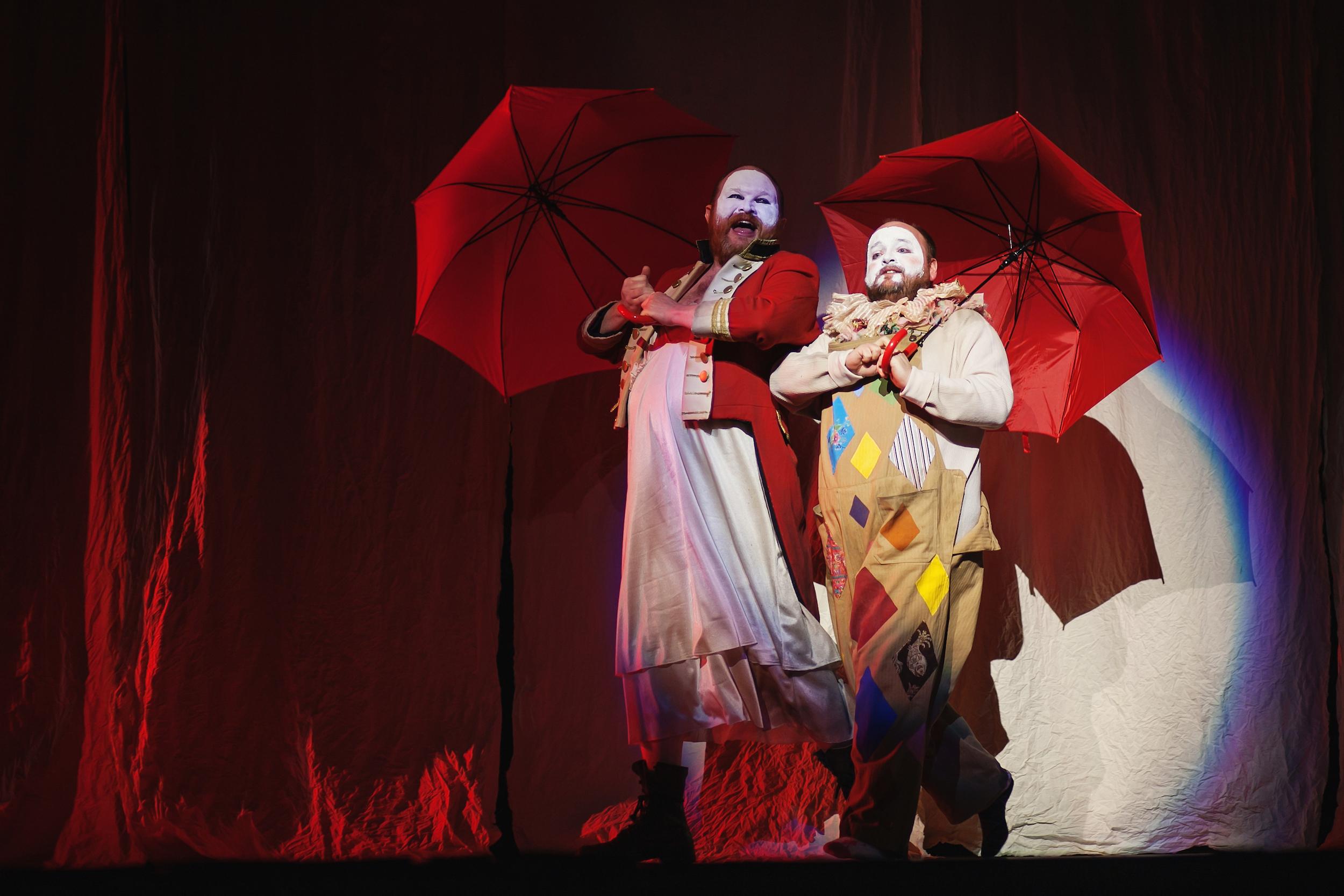 Central City Opera in  Der Kaiser von Atlantis .Journey of the Human Spirit. Photo by  Amanda Tipton . 2013