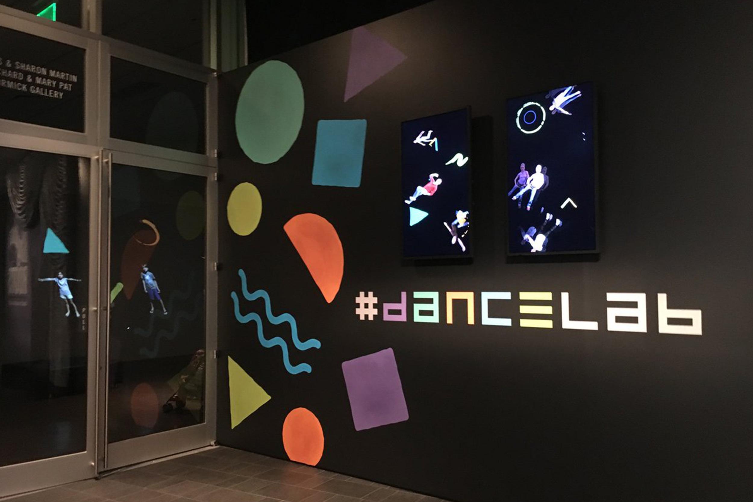 Wonderbound and Legwork Studio's #dancelab at the Denver Art Museum. 2016.