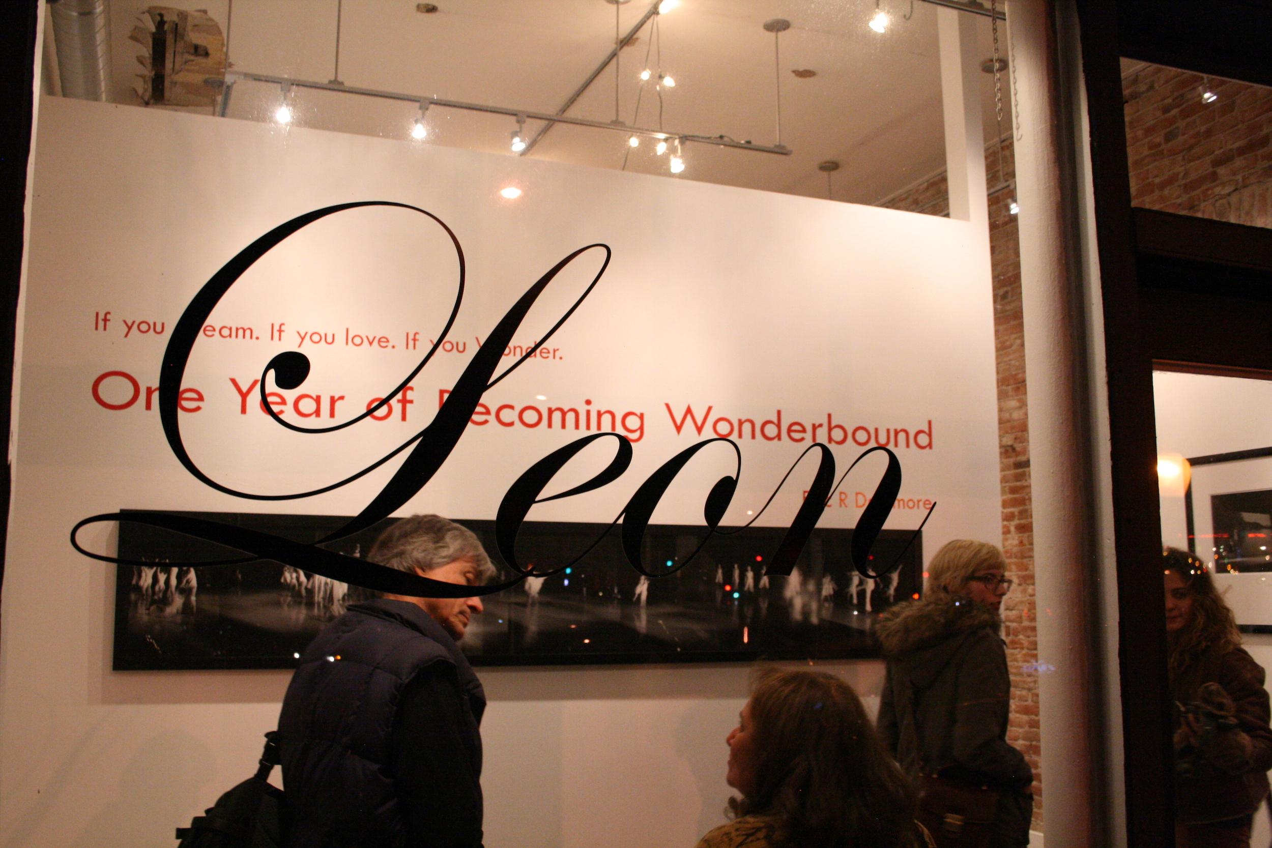 Leon Gallery featuring Wonderbound. 2013.