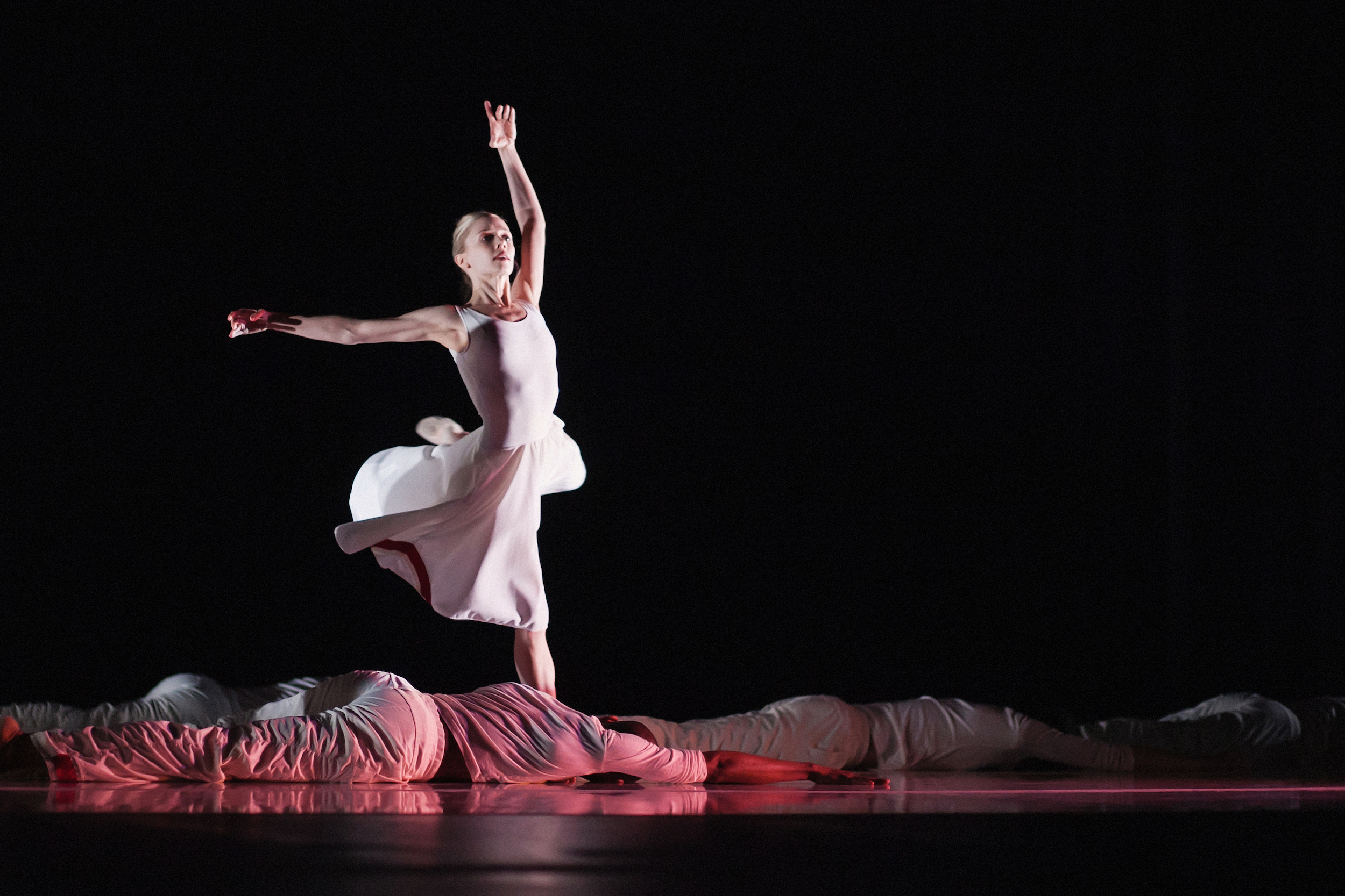 Wonderbound's Julie King in Garrett Ammon's  From Darkness to Light  with the Colorado Symphony. Photo by  Amanda Tipton . 2013.