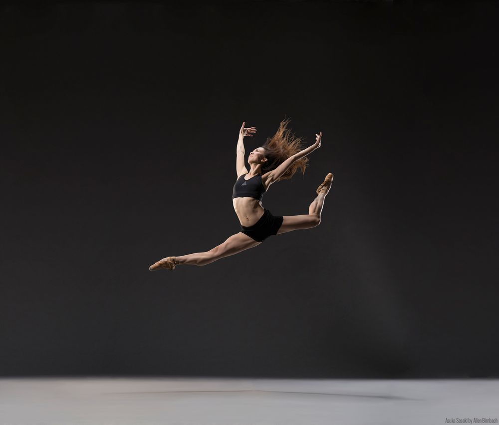 Colorado Ballet's Asuka Sasald. Photo by Allen Birnbach. 2018