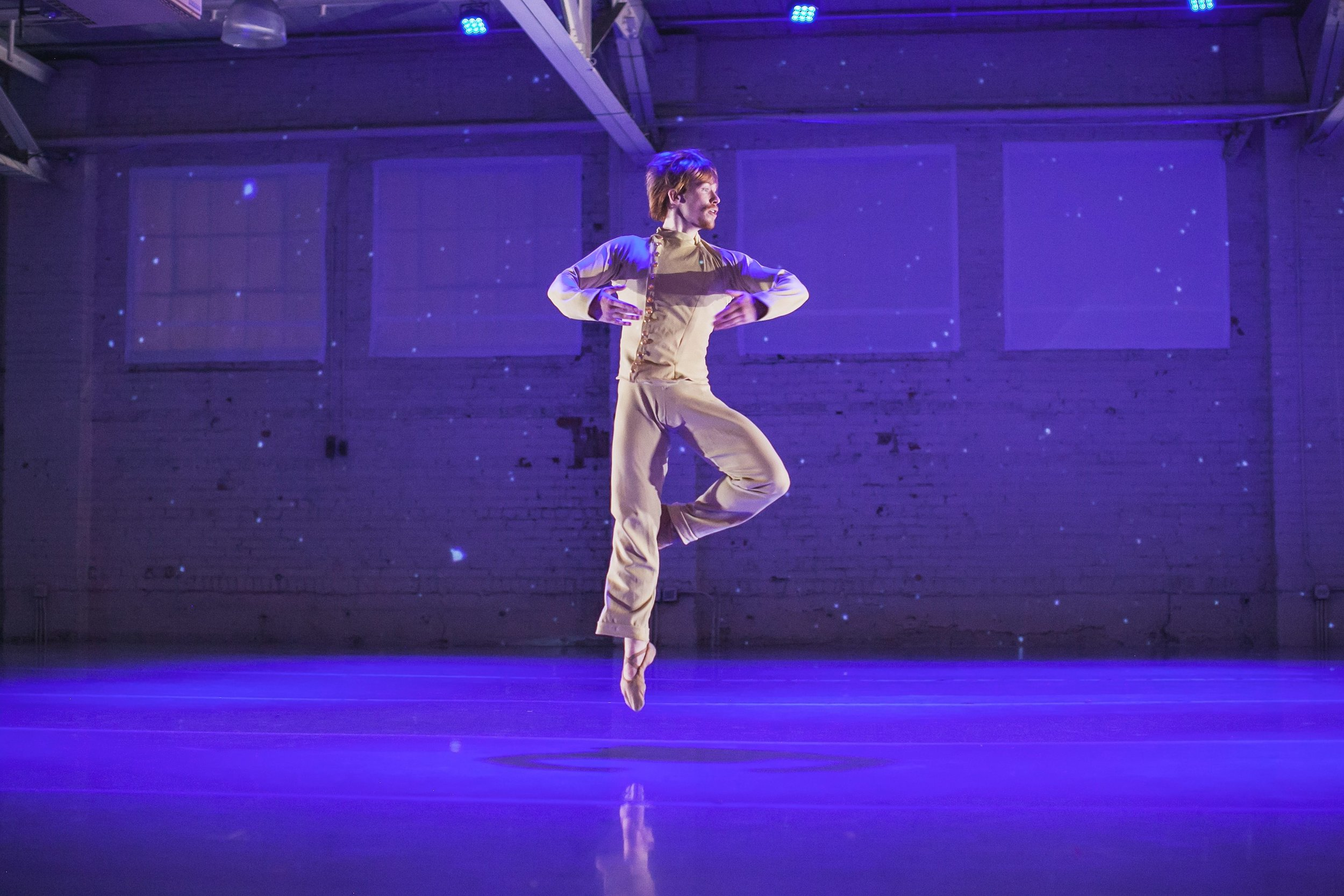 Wonderbound's Ben Youngstone in Garrett Ammon's <i>Snow</i> with Jesse Manley & His Band.