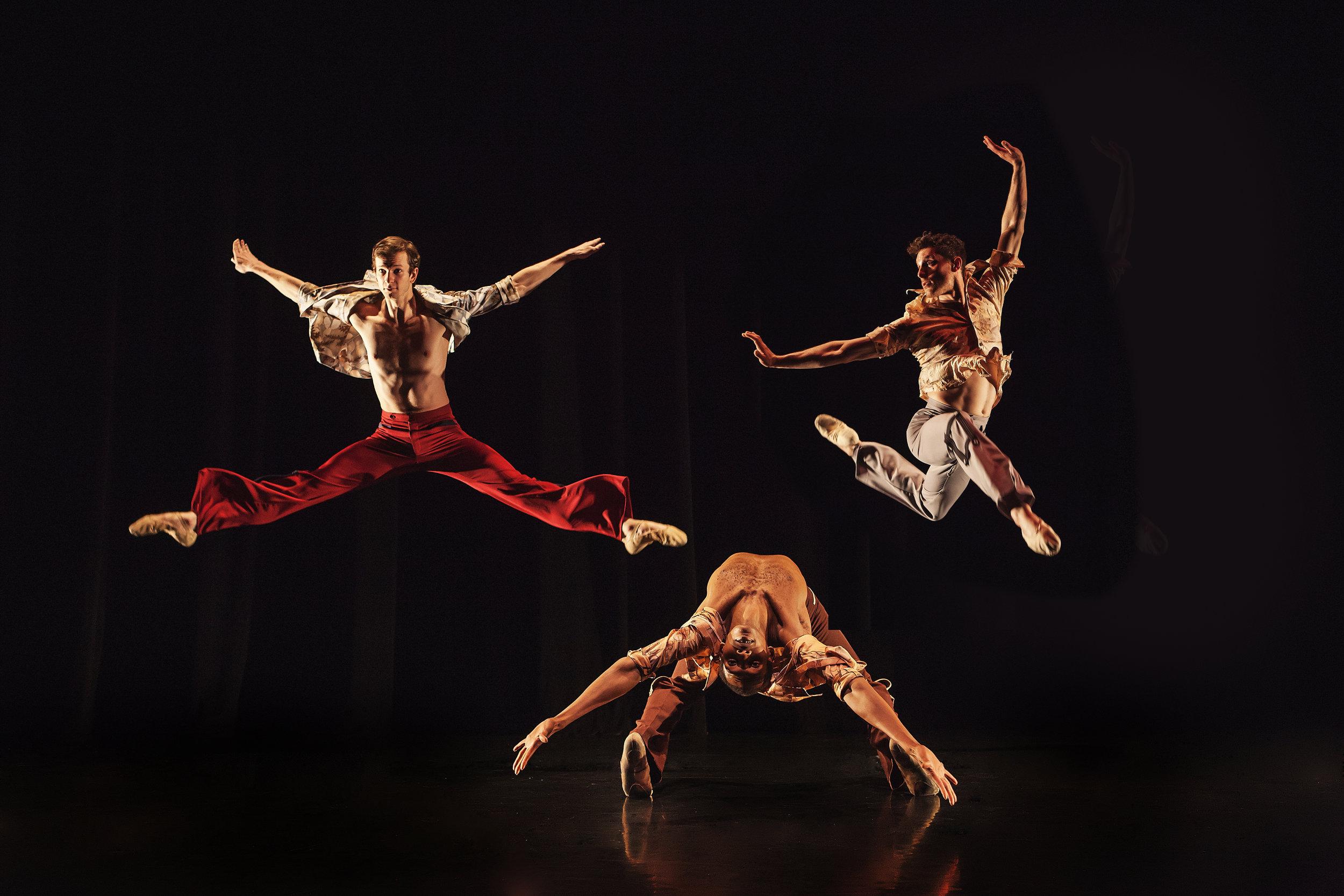 Wonderbound dancers performing Garrett Ammon's  Rock Ballets . Photo by  Amanda Tipton . 2016.