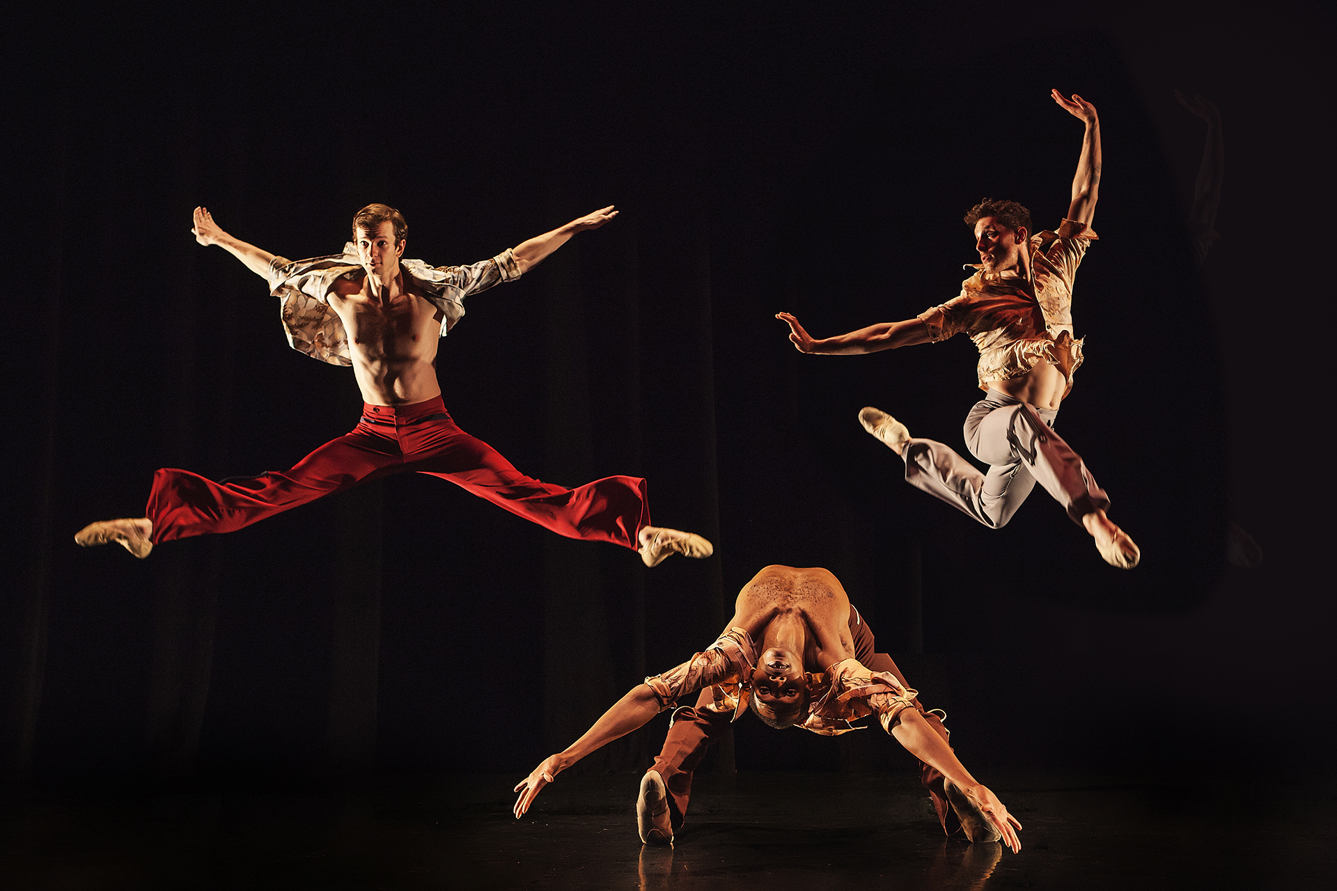 Wonderbound dancers in Garrett Ammon's  Rock Ballets with Baroque Chamber Orchestra. Photo by  Amanda Tipton . 2016.