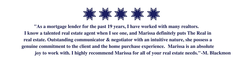 Five Star Testimonial Marissa Stauffer, realtor in Fort Mill, SC.