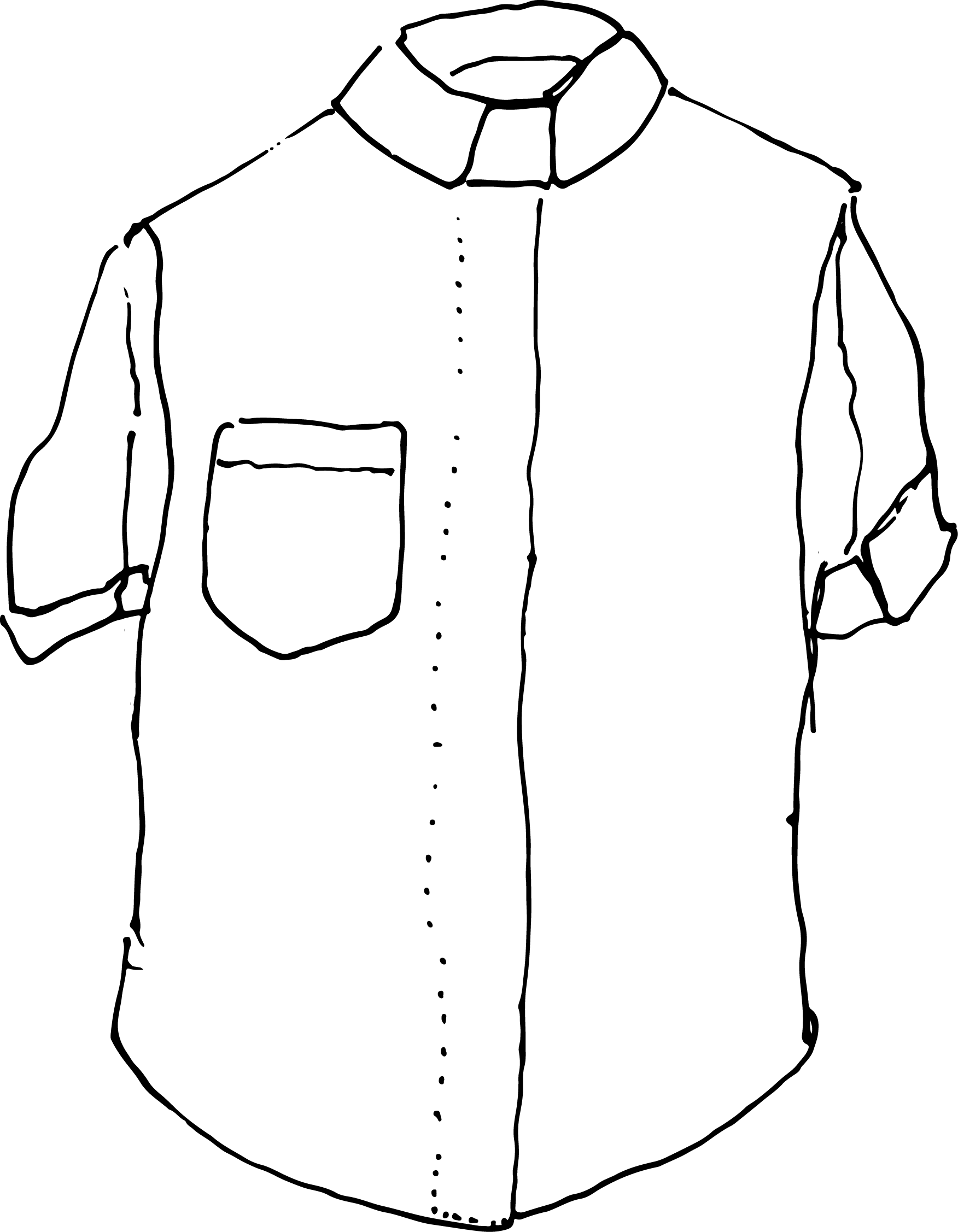 Short Sleeved Clerical Shirt - White Background.png
