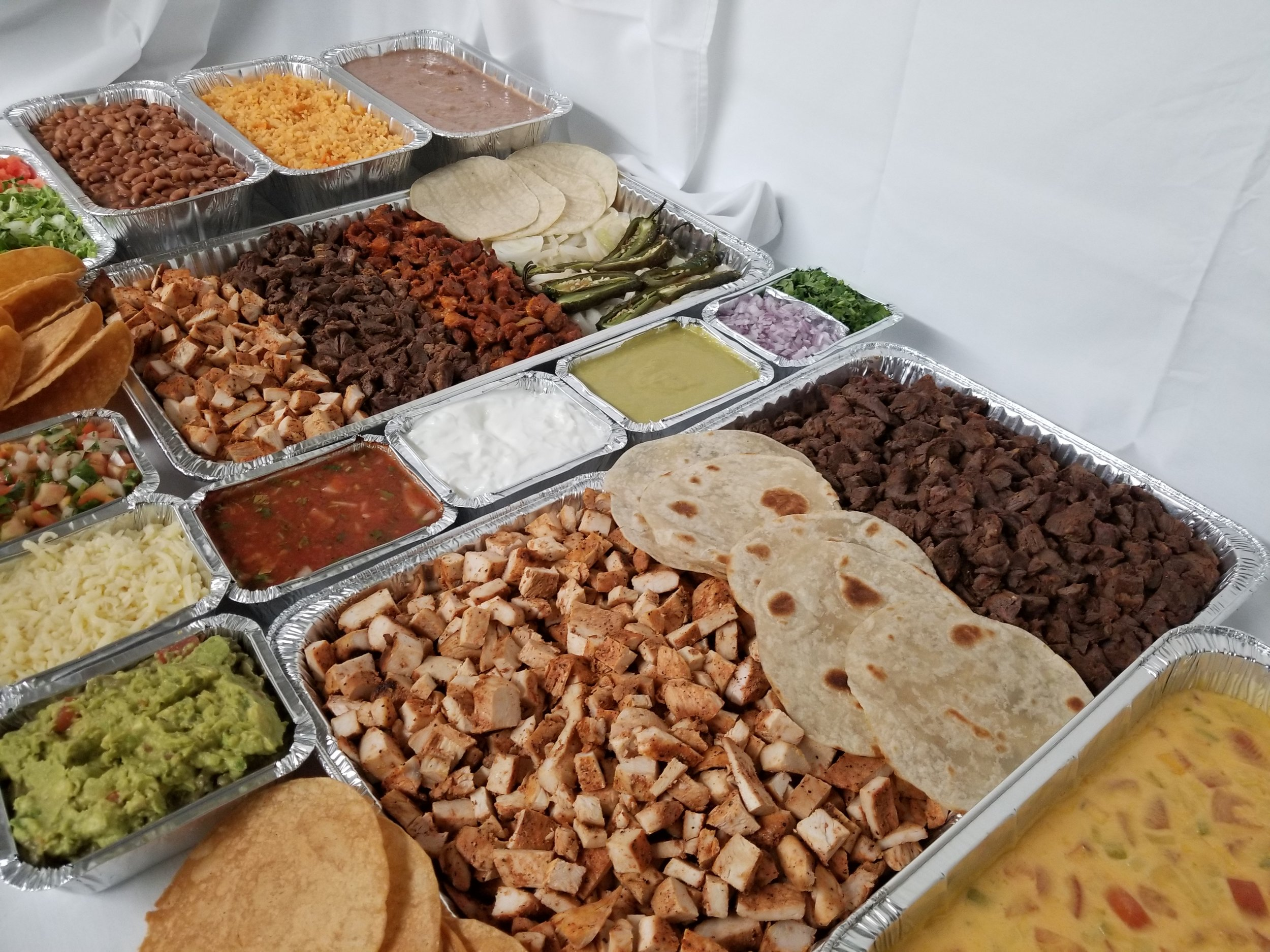 Fajita Taco Bar - Catering in Houston, Texas