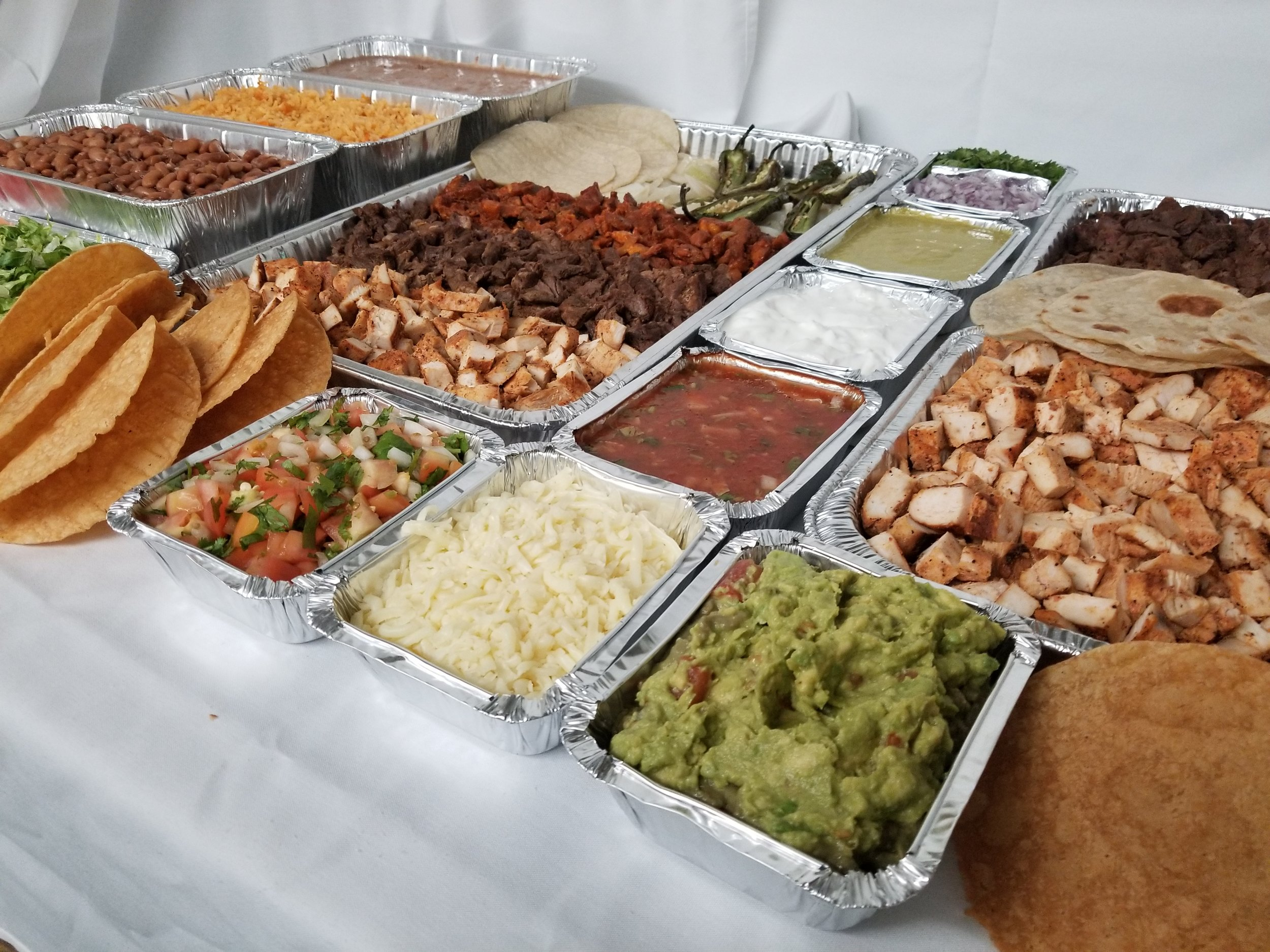 Catered Taco Bar - Houston, Texas