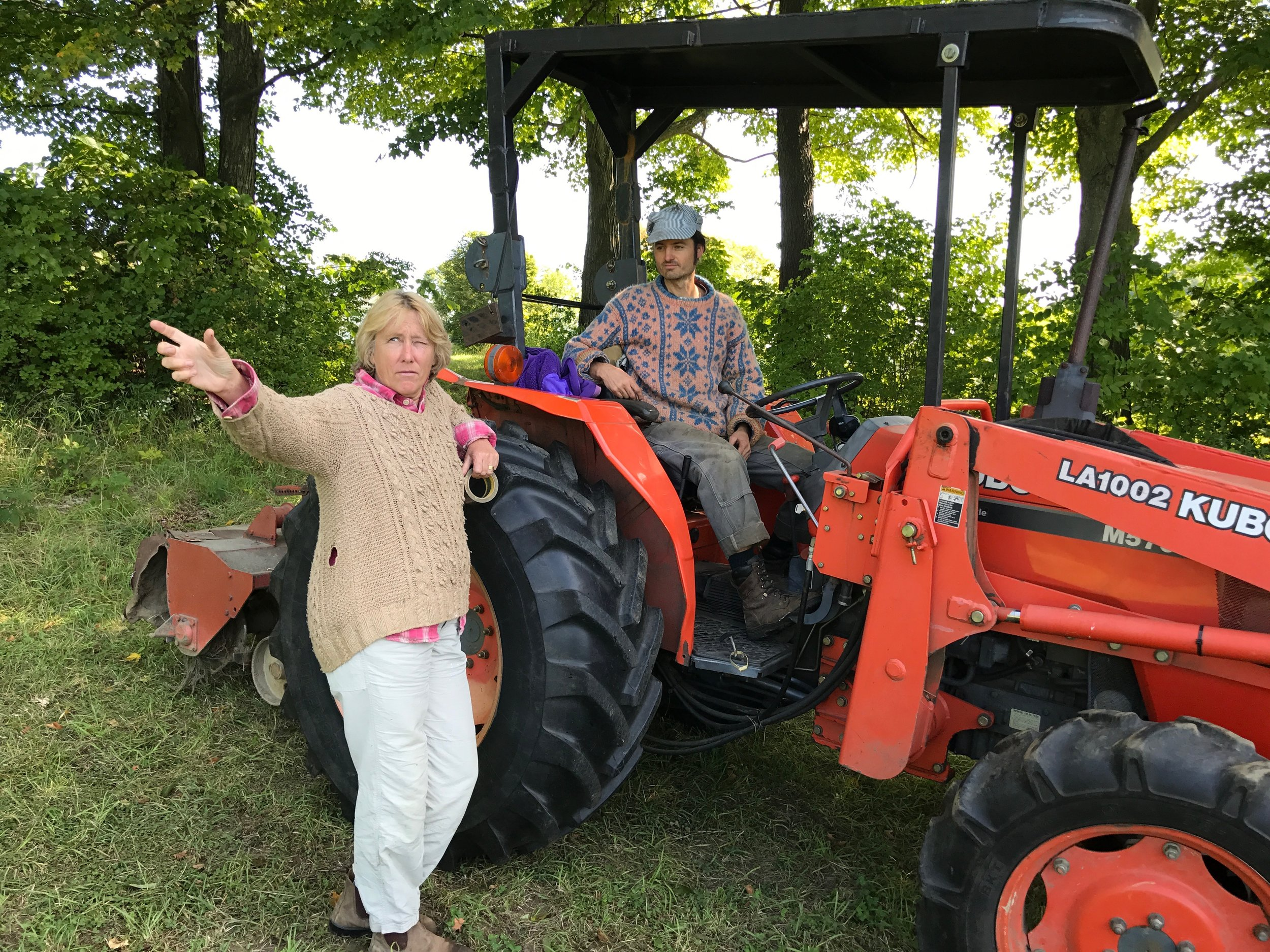 47 S with Chris, tractor.jpg