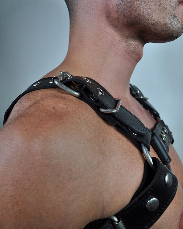 Folsom is here!!! See you at Folsom #sf #folsom #folsomstreetfair #sexy #leather #fantasy #lol #harness #jock #shorts #suspender #leatherjock #leatherharness #bdsm