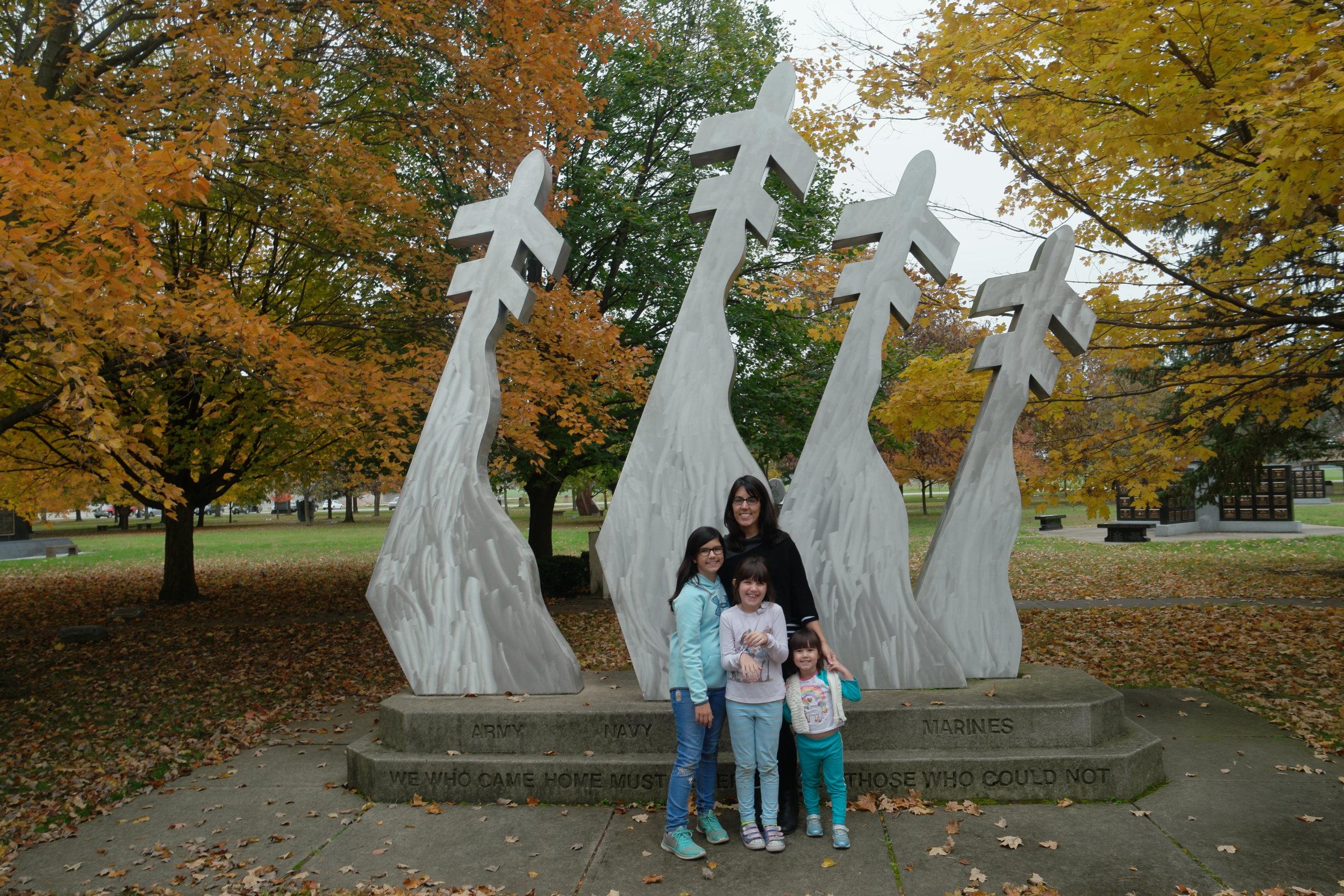 Memorial Garden, United States Air Force Museum, Dayton, Ohio