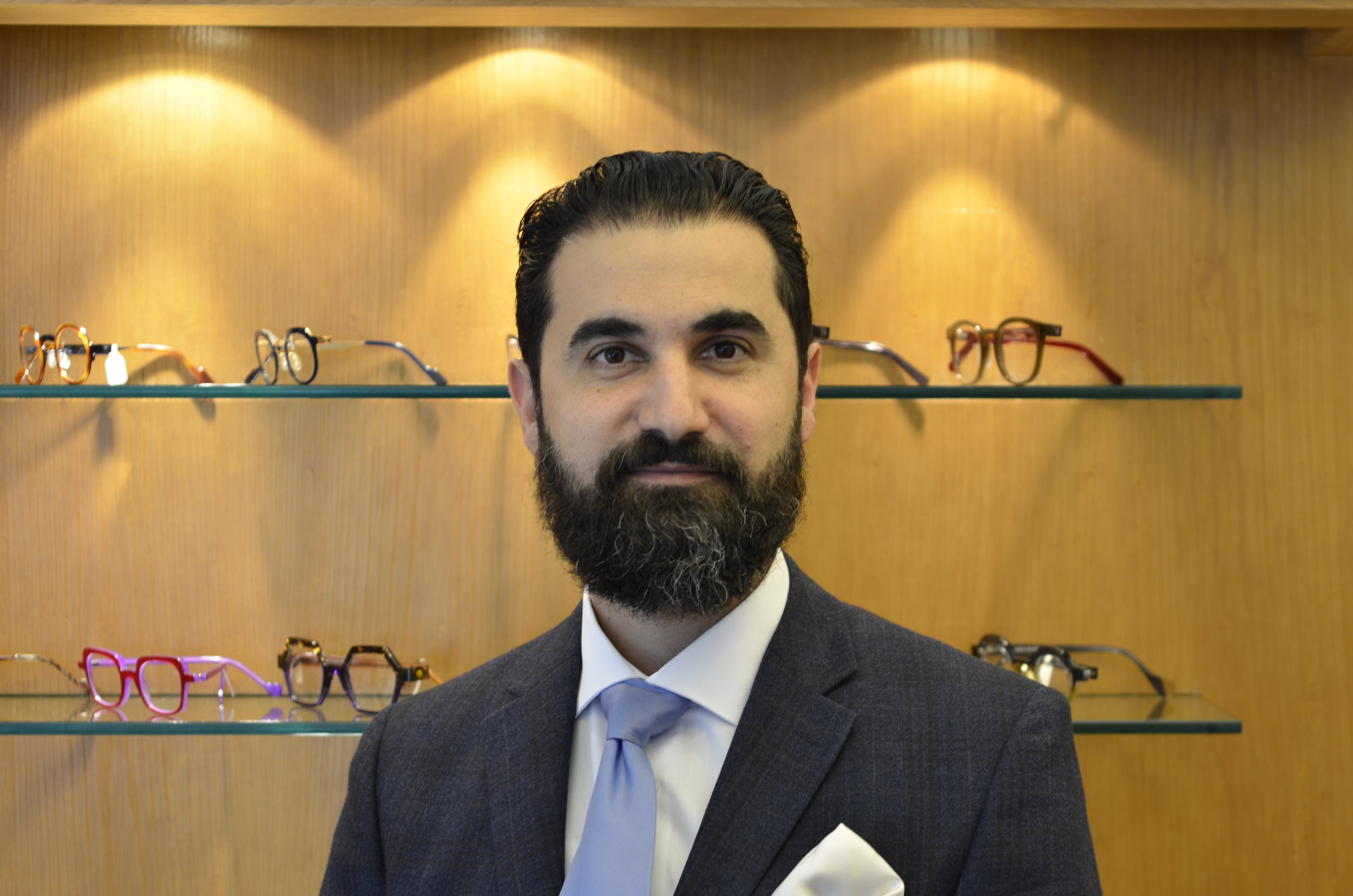 Arkady Hasanov,      Manager, Licensed Optician