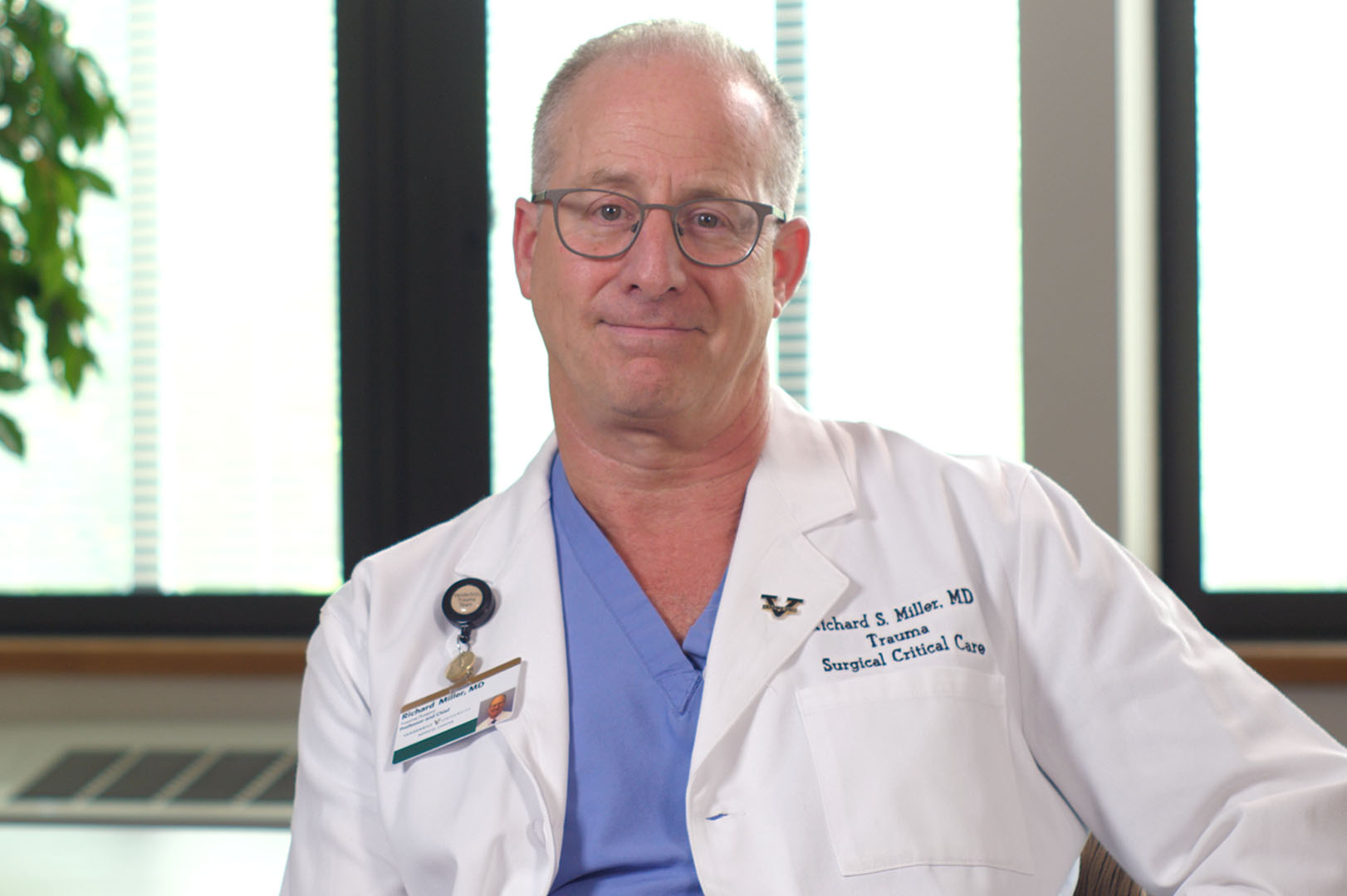 Richard S. Miller, M.D. - As the leader of one of the busiest trauma units in the region, Dr. Miller and his team faced three trauma cases that were very out of the ordinary this year.