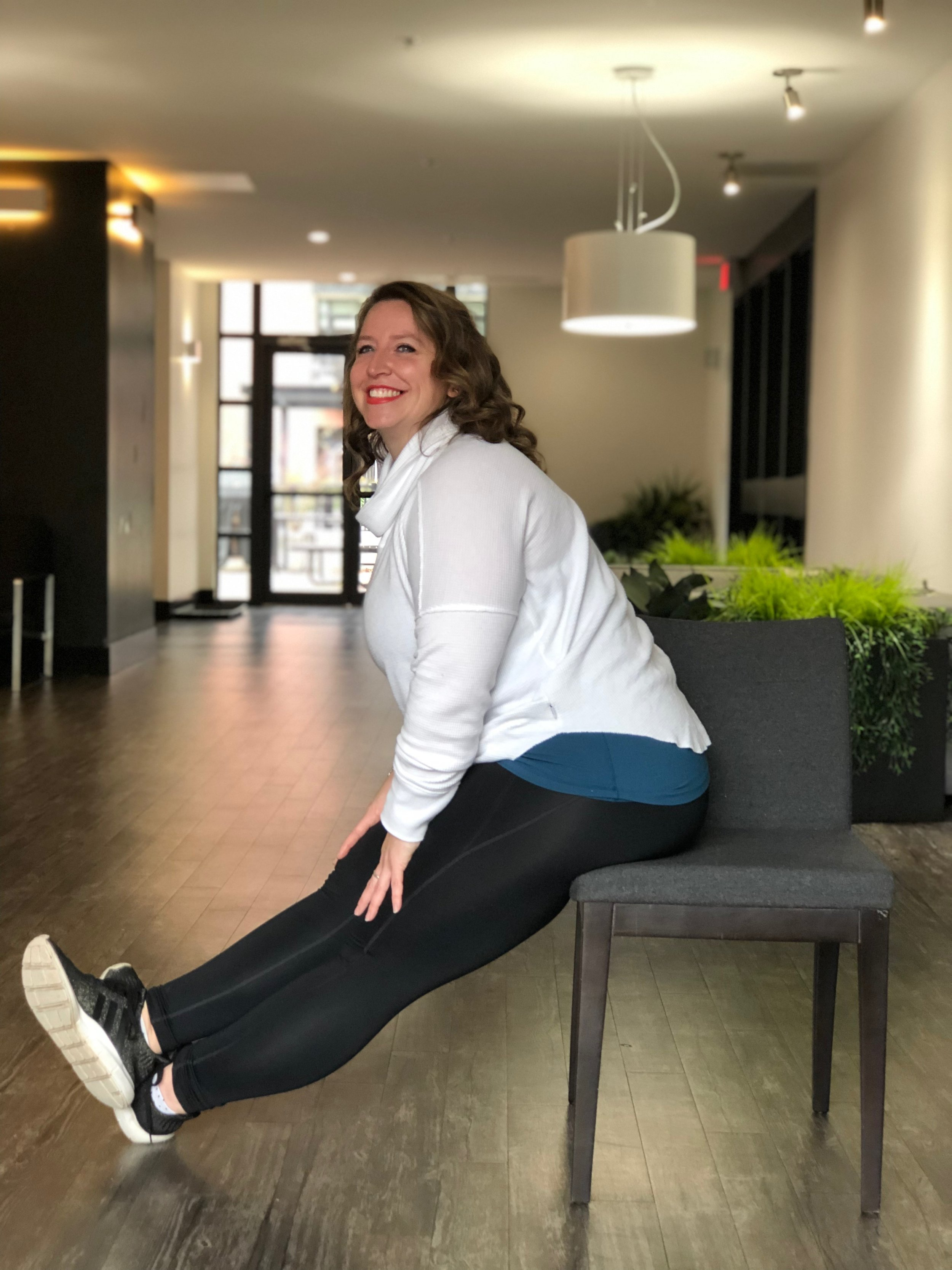 Seated Forward Fold - with an Extra Kick