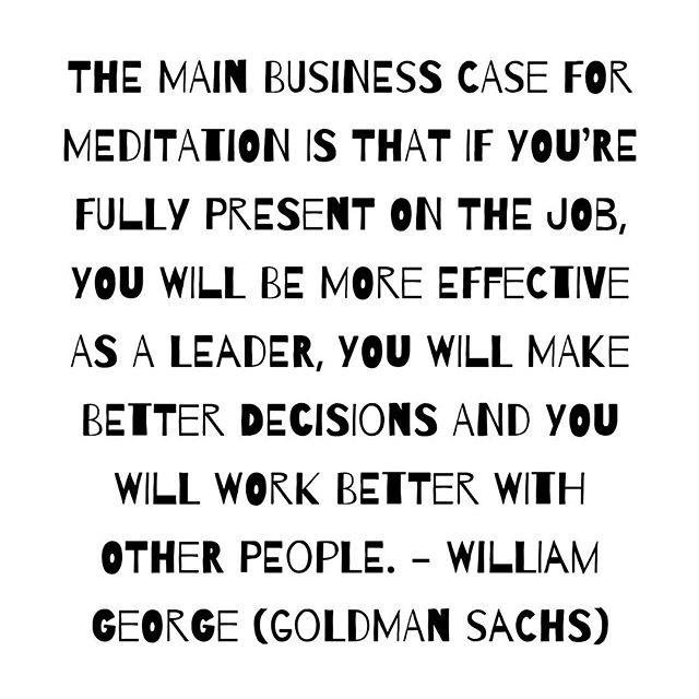 It's #worldmeditationday today! Don't take our word for how important it is, here are a few high performing business leaders and their thoughts on mindfulness and meditation. . . . #meditation #mindfulness #quoteoftheday #wellnesswednesday #mindfulness #corporatewellness #corporatehealth #workplacewellness #workplacemindfulness
