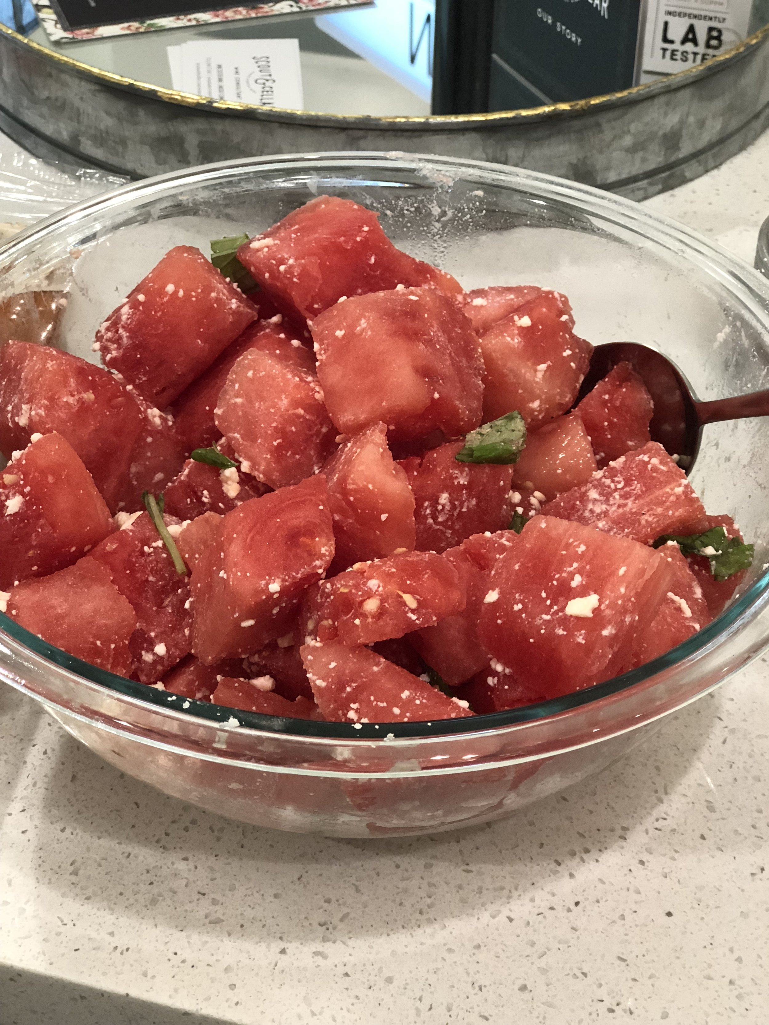 Watermelon Salad -