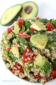 Quinoa with Avacado Salad -