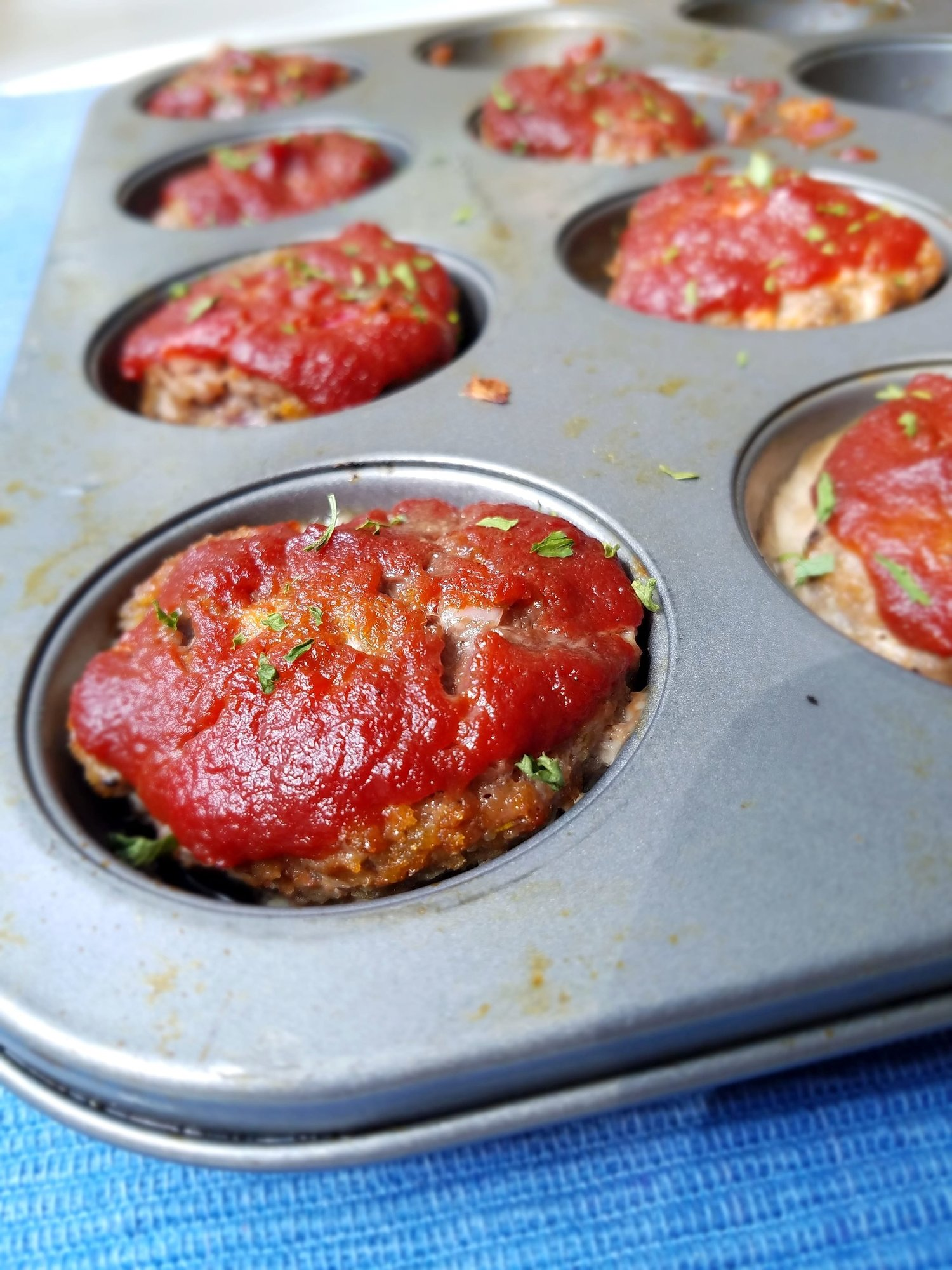 Mini Meatloaf - Adapted from The Mermaid with Muscles