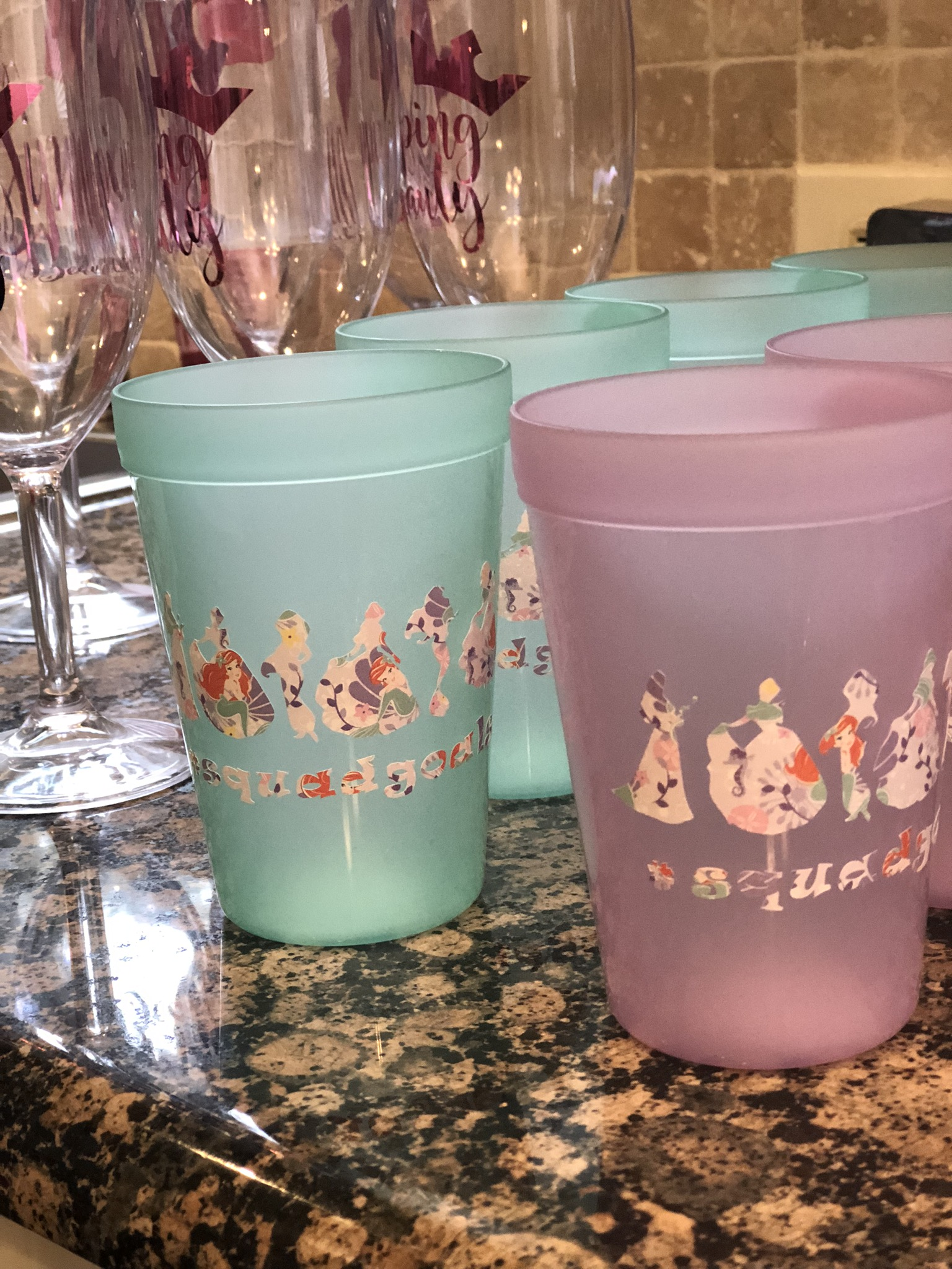Cups for the kiddos