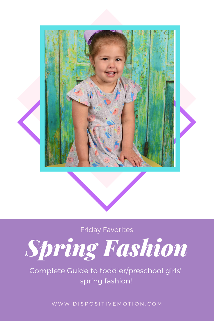 Complete Guide to affordable wardrobes for spring for both toddler and pre-school girls. Coordinated pieces that you can mix and match for easy dressing by Blogger Lynn Winter.