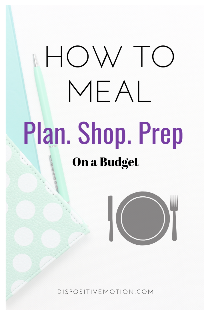 Step-By-Step on How to Meal Prep, even when you have no clue how! How to plan, shop and prep for beginners from Lifestyle & Wellness Blogger, Lynn Winter.