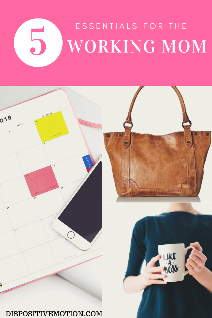 Lawyer & Lifestyle Blogger, Lynn Winter, shares her essential items that every working mom needs to survive. #workingmom #momlife #workingwomen