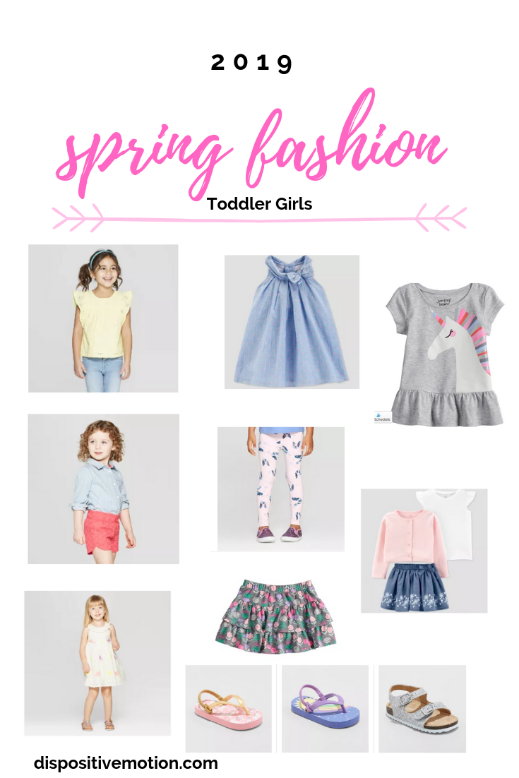 Toddler Girls Target and Old Navy Spring Fashions by Lifestyle Blogger Lynn Winter