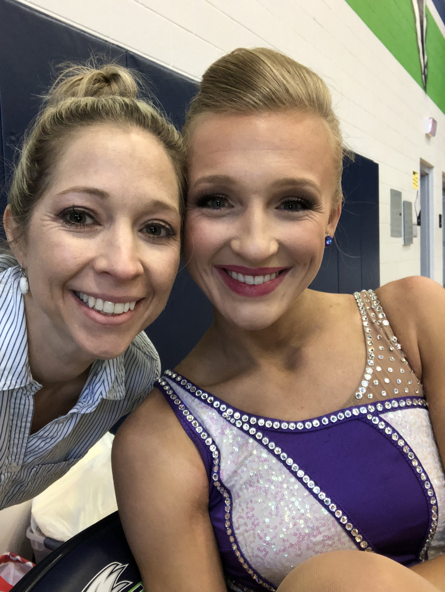 Evelyn's babysitter and the current TCU Twirler