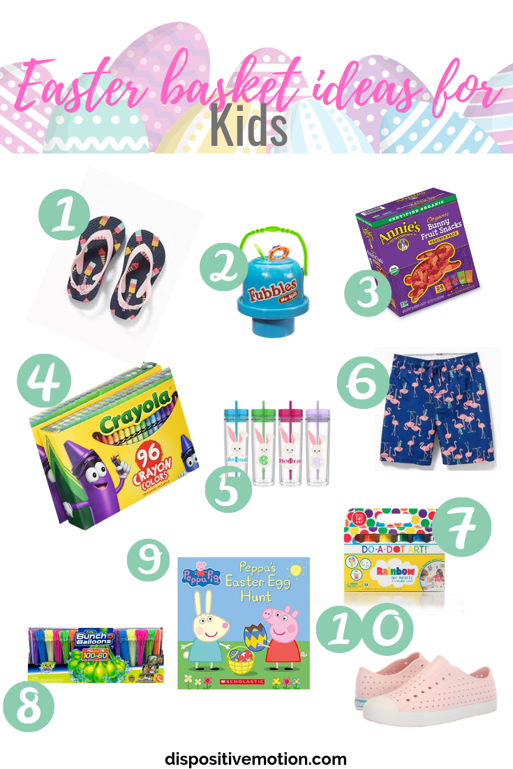 10 Non-candy ideas for your toddlers Easter basket? Don't want to give them candy? Check out these awesome non candy Easter basket ideas for your toddler. Functional Easter gifts