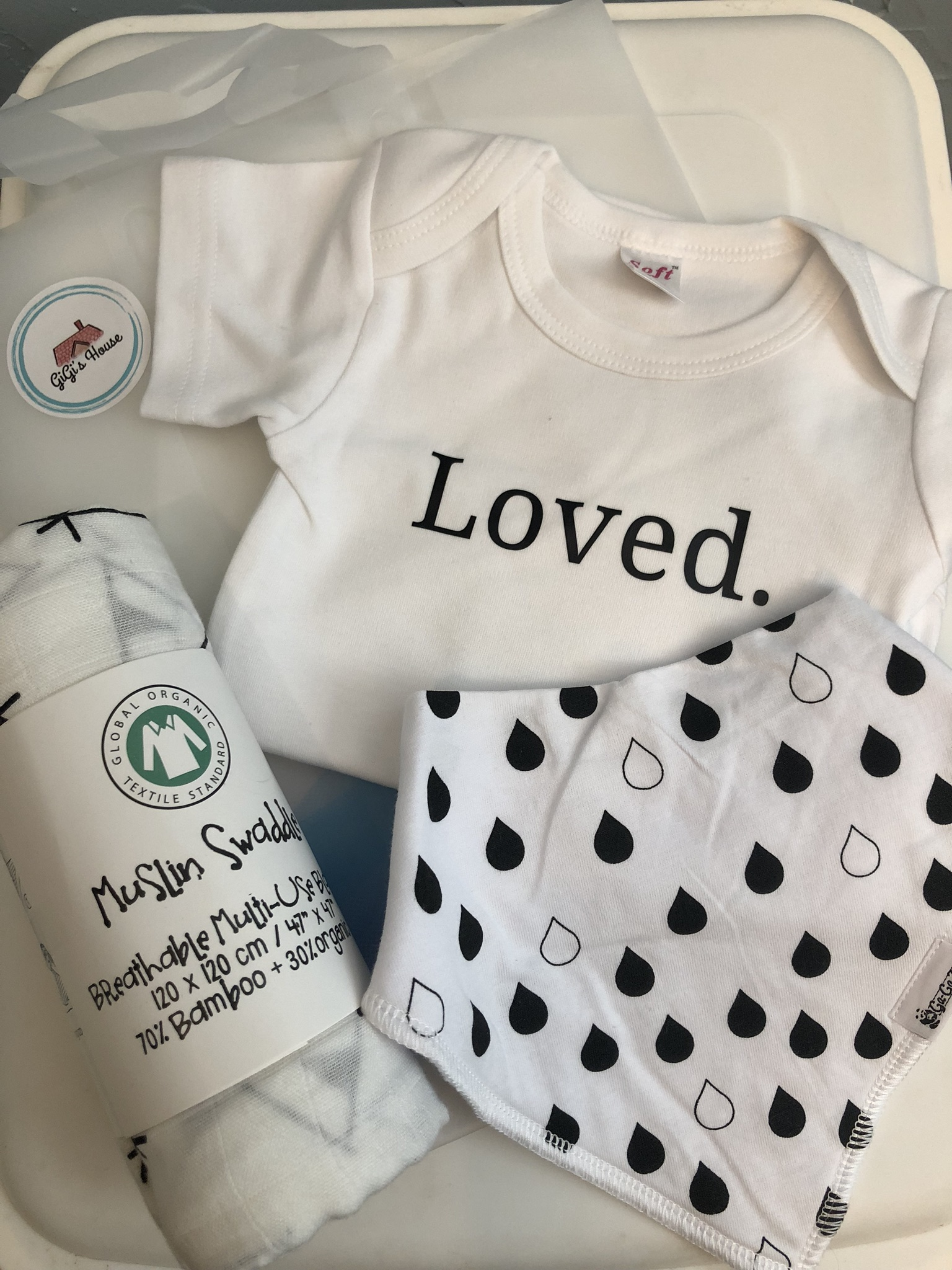 Stress-free baby gift giving from Gigi's House.