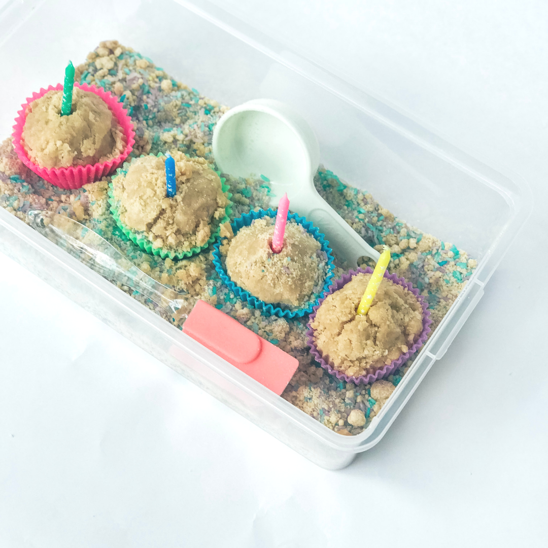 Let Them Be Little Birthday Box - A sensory box subscription by Audrey Stewart