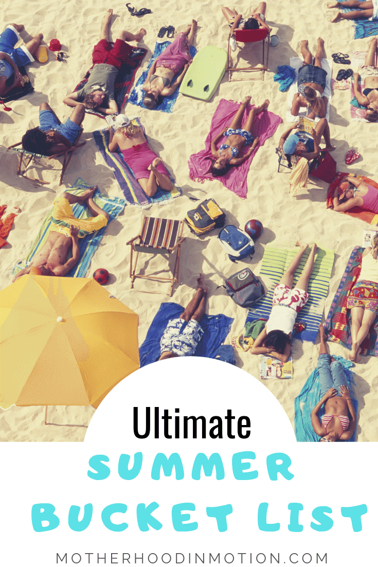 It's Officially summer around these parts and if you are looking for a list of things to do for summer, here is your ultimate summer bucket list! Lifestyle Blogger Lynn Winter has compiled the best summer bucket list for kids and amazing summer bucket list items for the whole family!