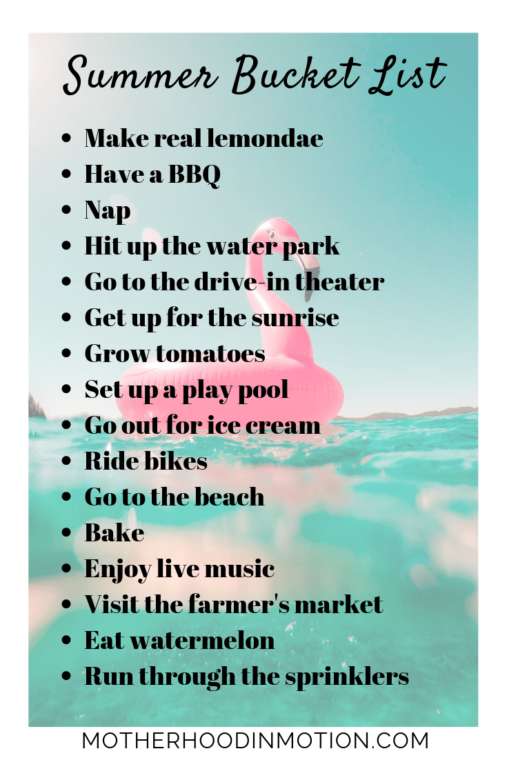 Summer bucket list! Awesome ideas to make this summer amazing with the summer bucket list! Here are 16 things to do this summer with the summer bucket list for kids.