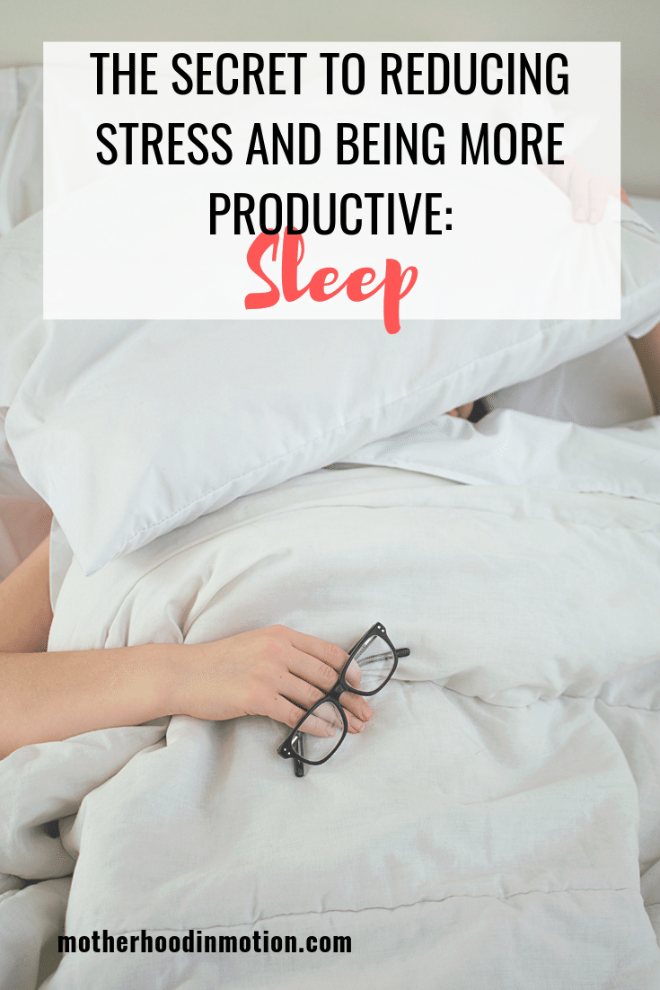 Stressed out? Not meeting deadlines? If stress and anxiety are ruling your life, the secret is getting enough sleep! So if you are stressed out chances are you are sleep deprived. Click to learn why getting enough sleep is important to your overall health and productivity.