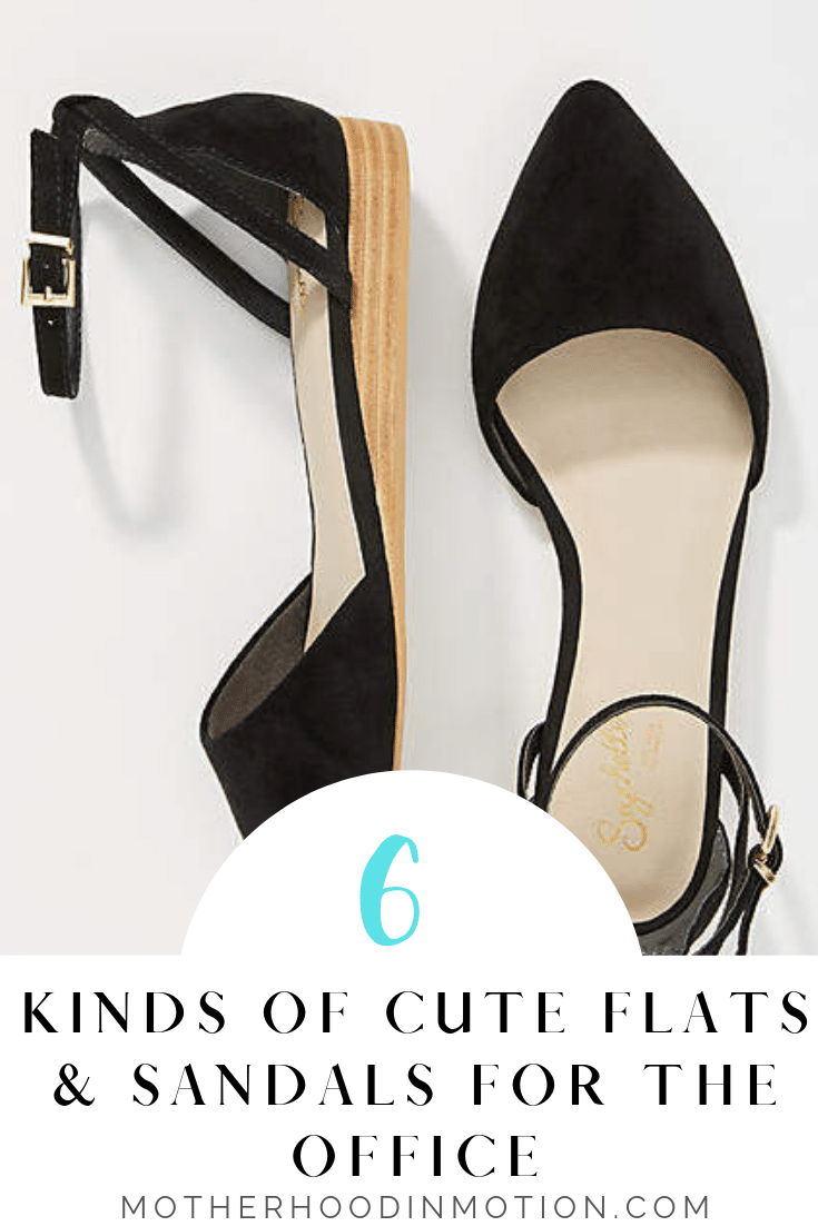 What to Wear: Best flats and sandals to wear to the office. Click to see the best cute and comfy flats to wear to work.