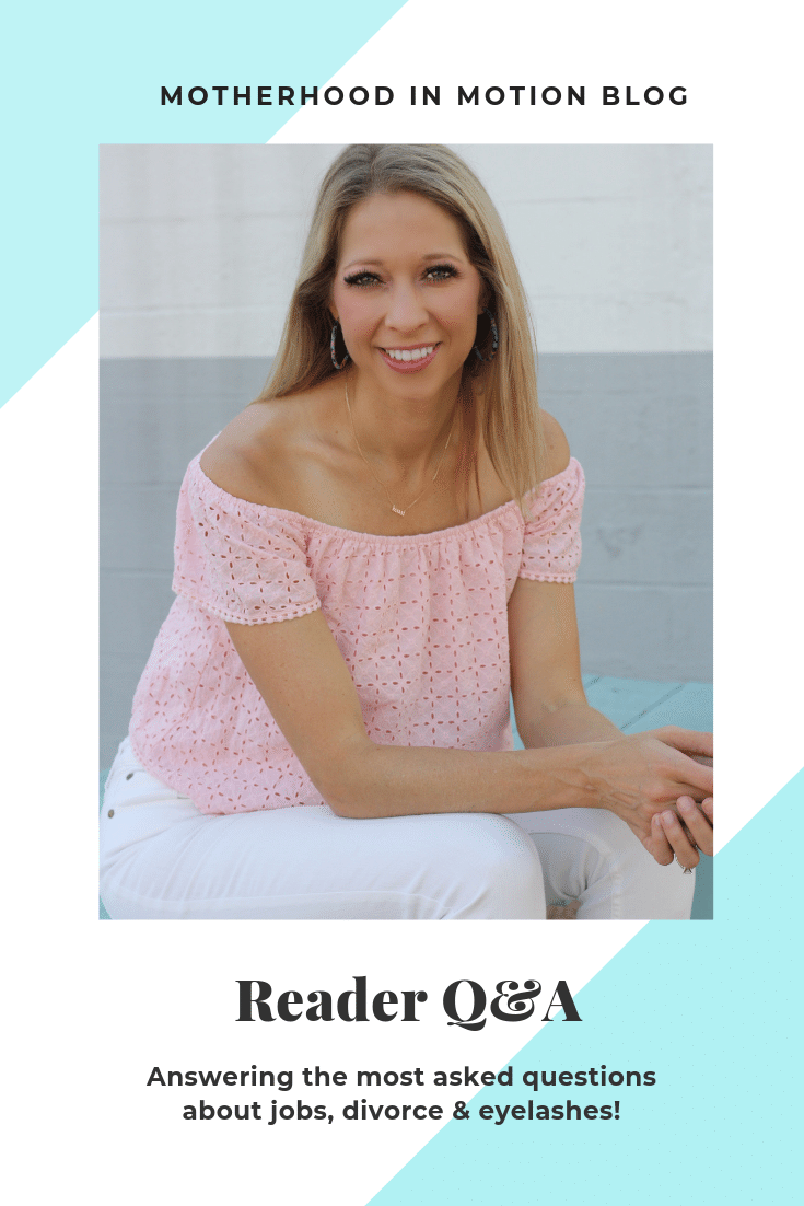 Answering all the reader questions from June. Talking about everything from jobs, divorce, marriage, eyelash extensions and using a planner. | Lynn Winter Lifestyle & Motherhood Blogger