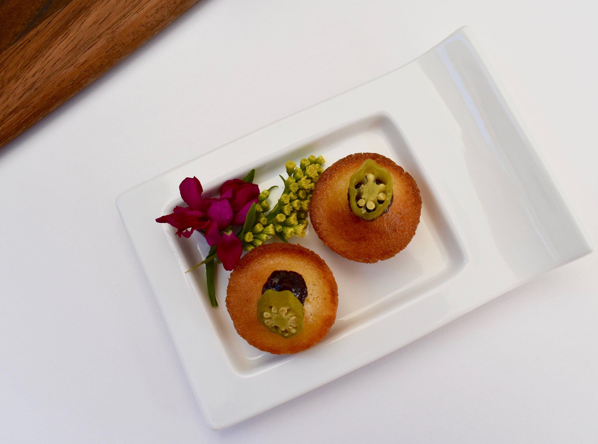 Miniature Corn Bread Muffins